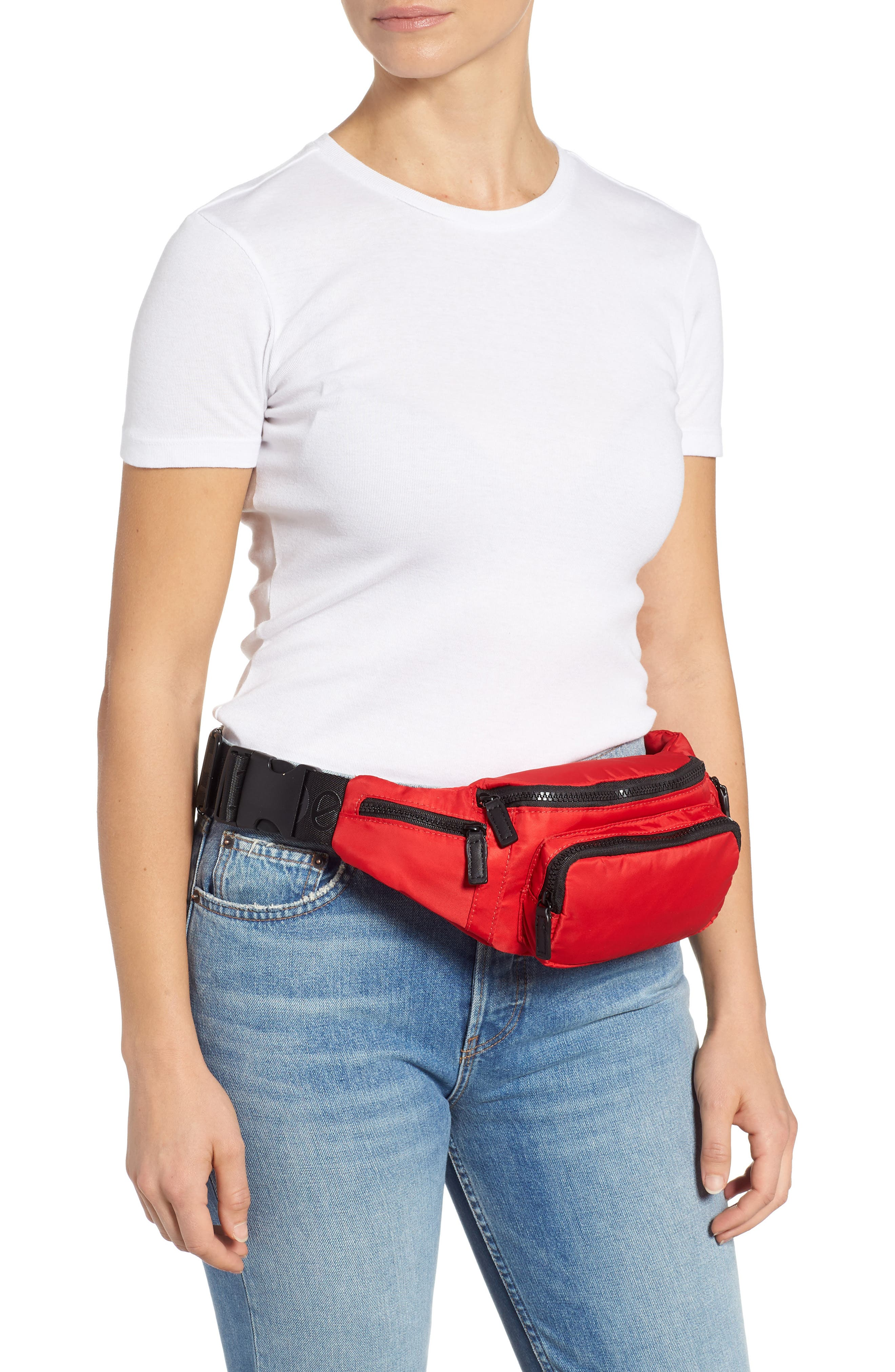Tokyo Belt Bag,                             Alternate thumbnail 2, color,                             RED