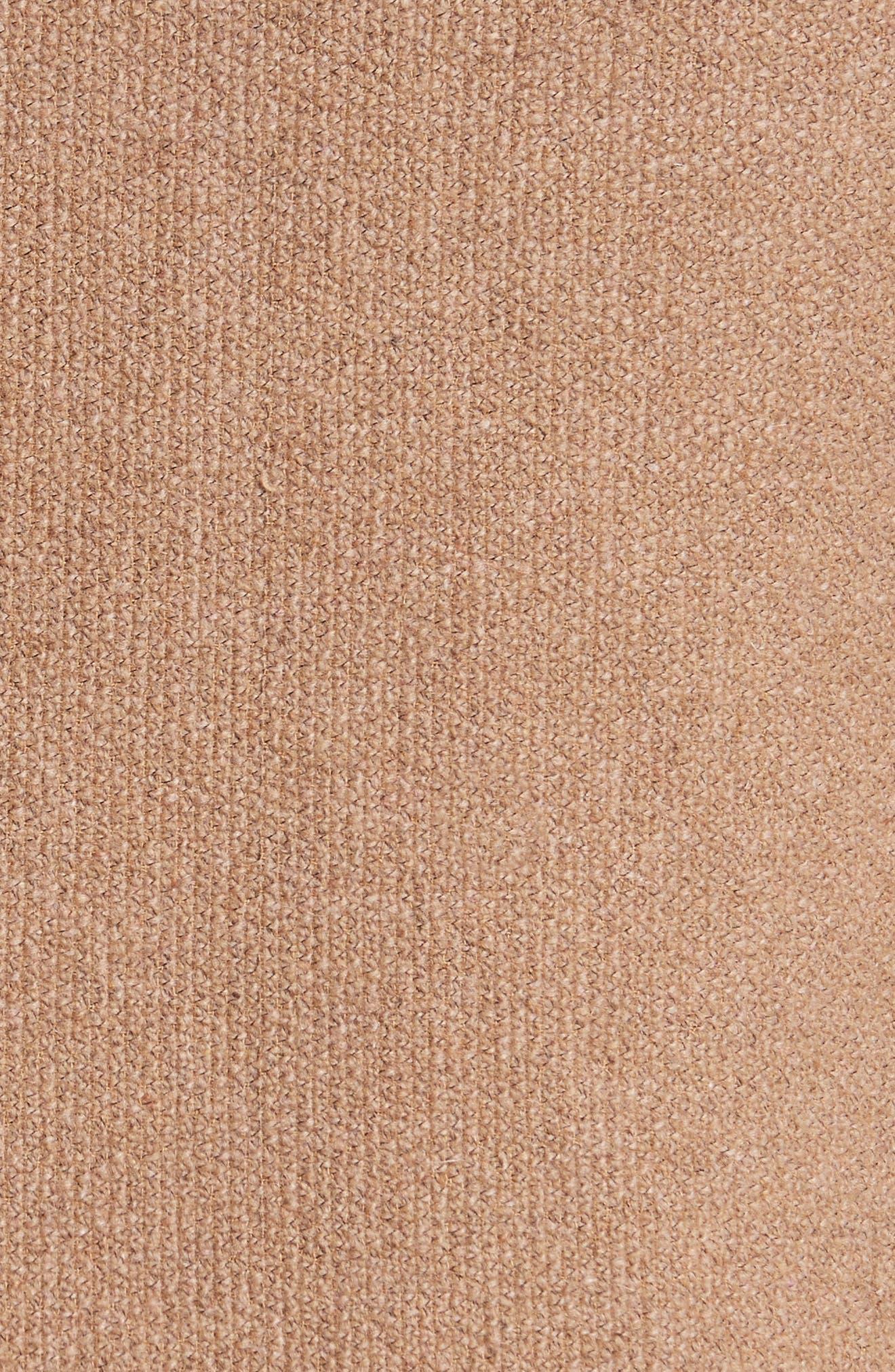 Napoli Nicola Camel Knit Wool Blazer,                             Alternate thumbnail 5, color,                             465
