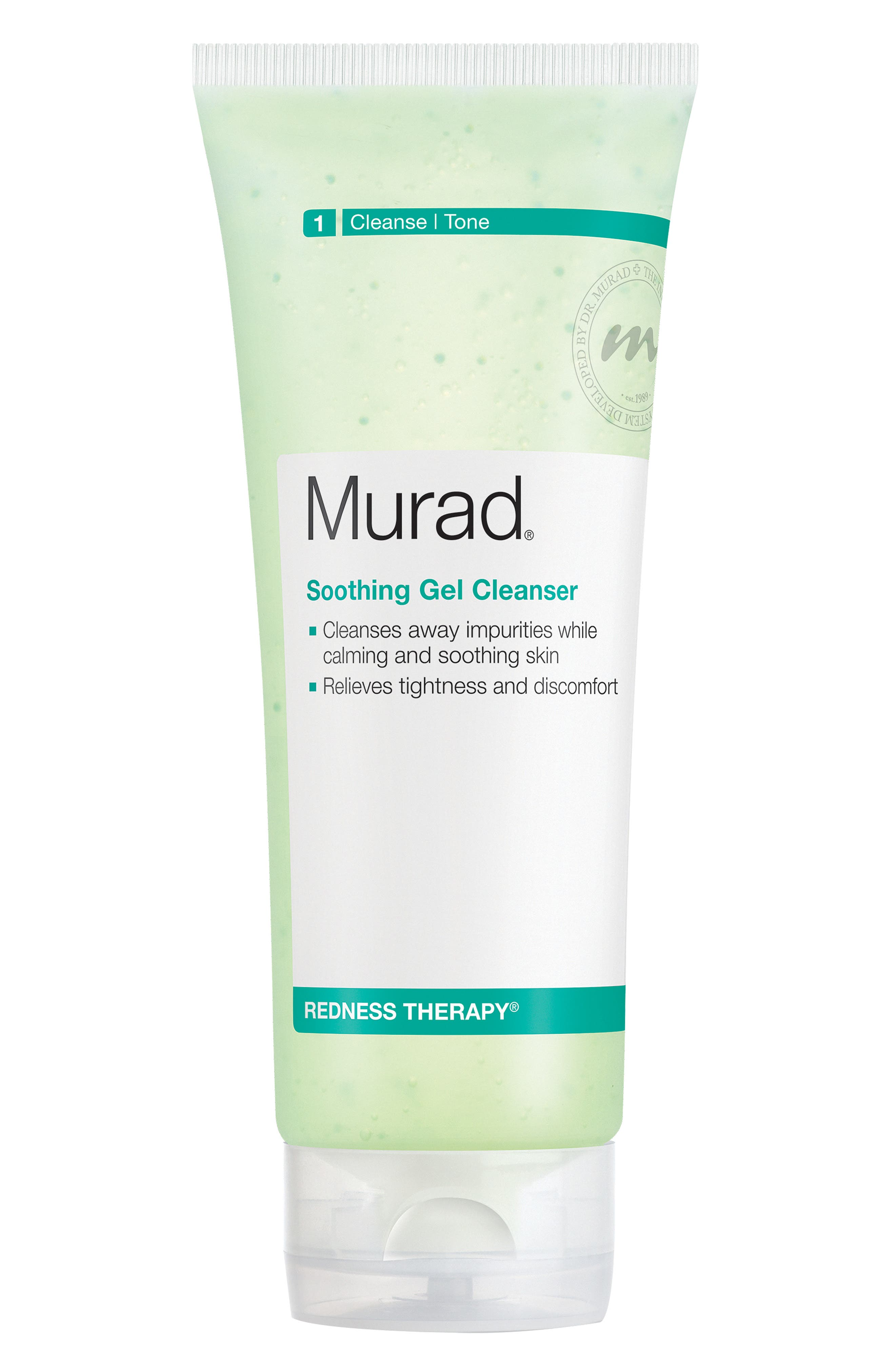Soothing Gel Cleanser,                             Alternate thumbnail 4, color,                             NO COLOR