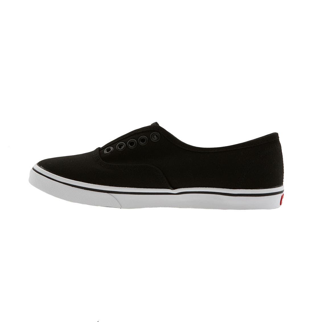 'Authentic - Lo Pro' Slip-On Sneaker,                             Alternate thumbnail 2, color,                             001