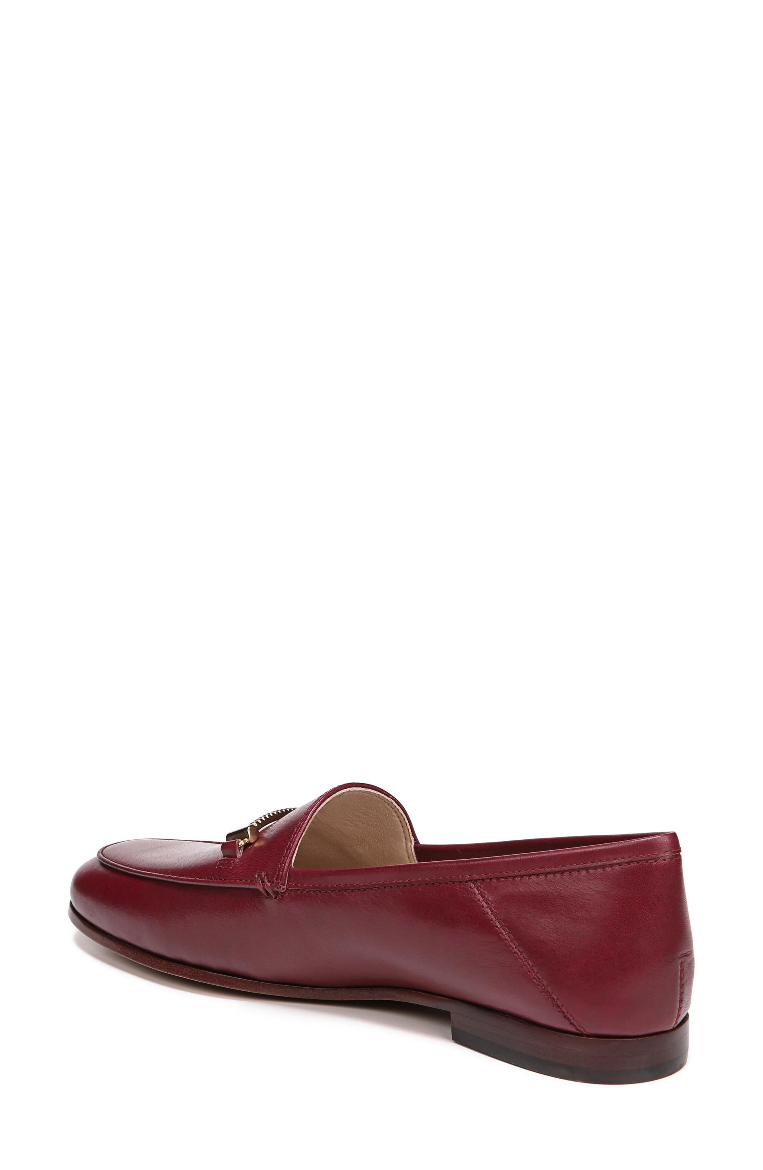 Lior Loafer,                             Alternate thumbnail 2, color,                             BEET RED LEATHER