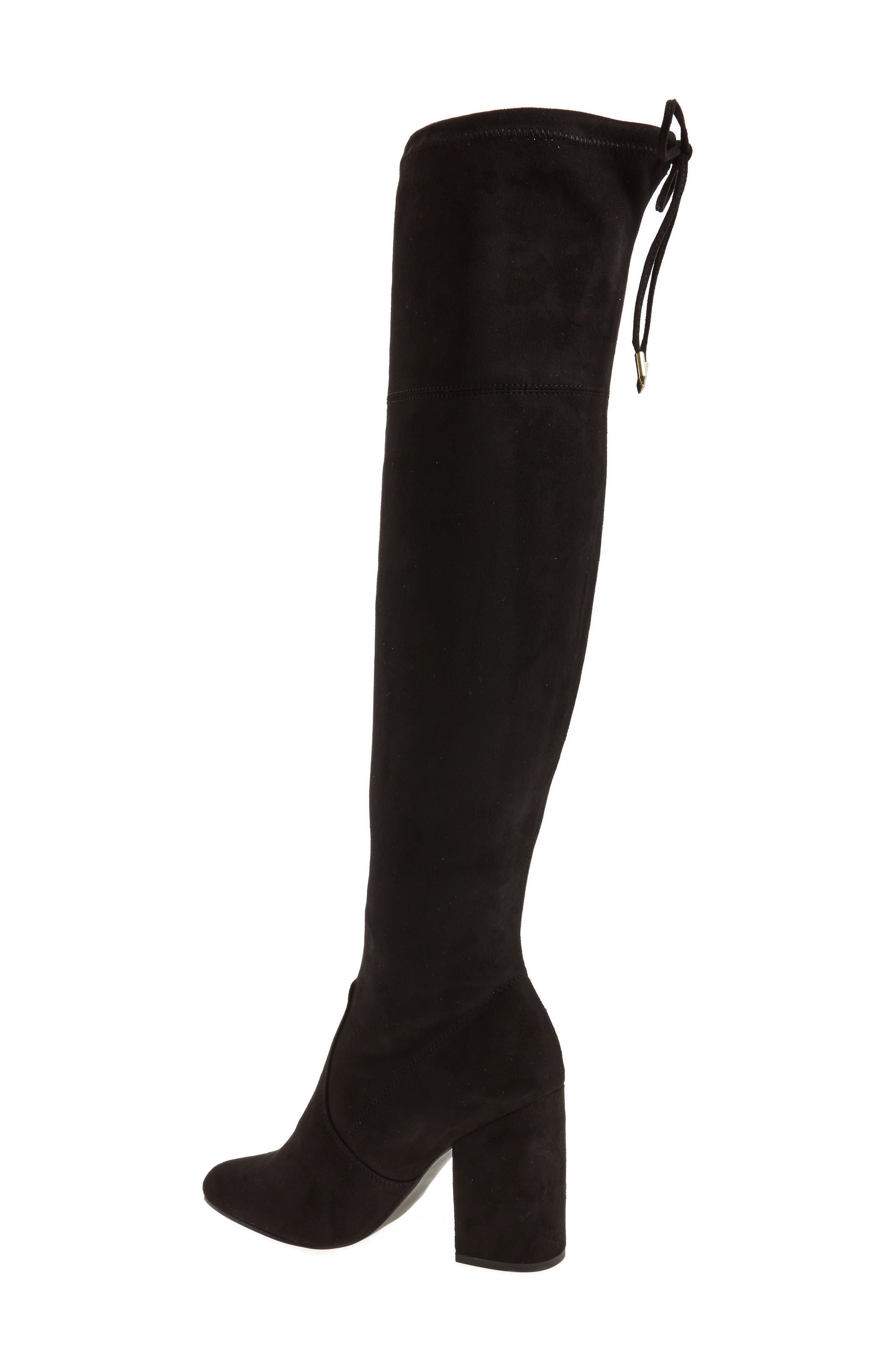 Niela Stretchy Over the Knee Boot,                             Alternate thumbnail 2, color,                             001