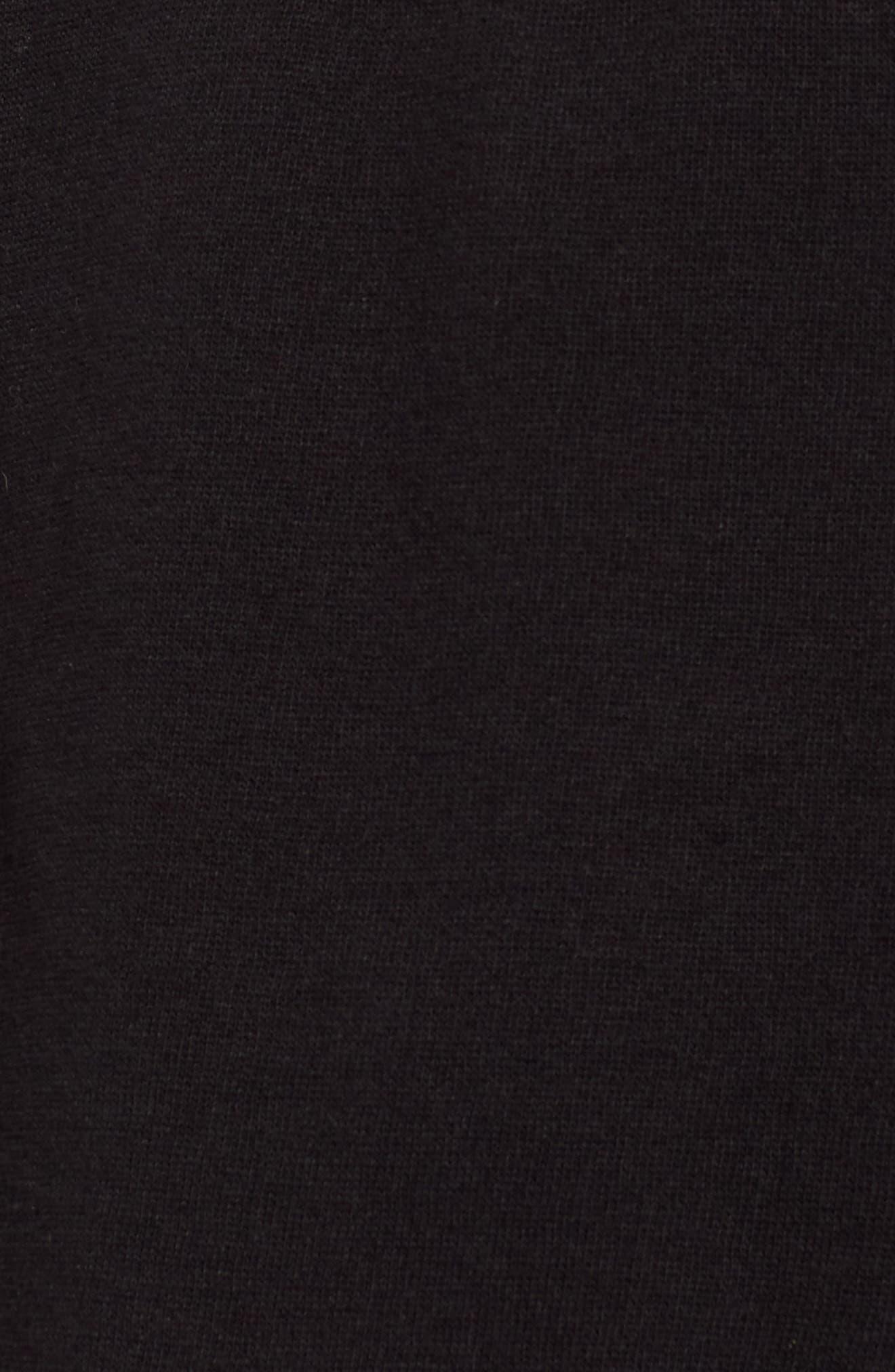 Bell Sleeve Hoodie,                             Alternate thumbnail 5, color,                             001
