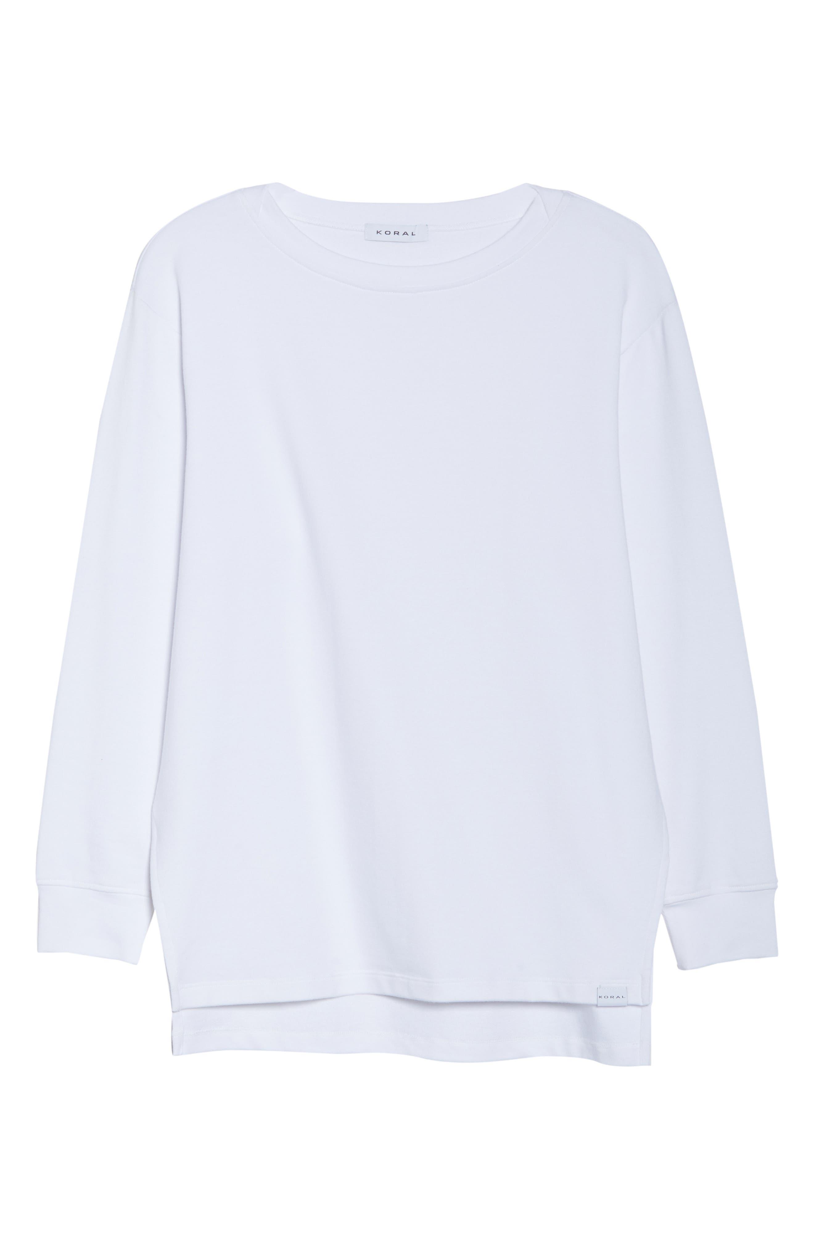 Bristol Pullover,                             Alternate thumbnail 7, color,                             WHITE/ BLACK