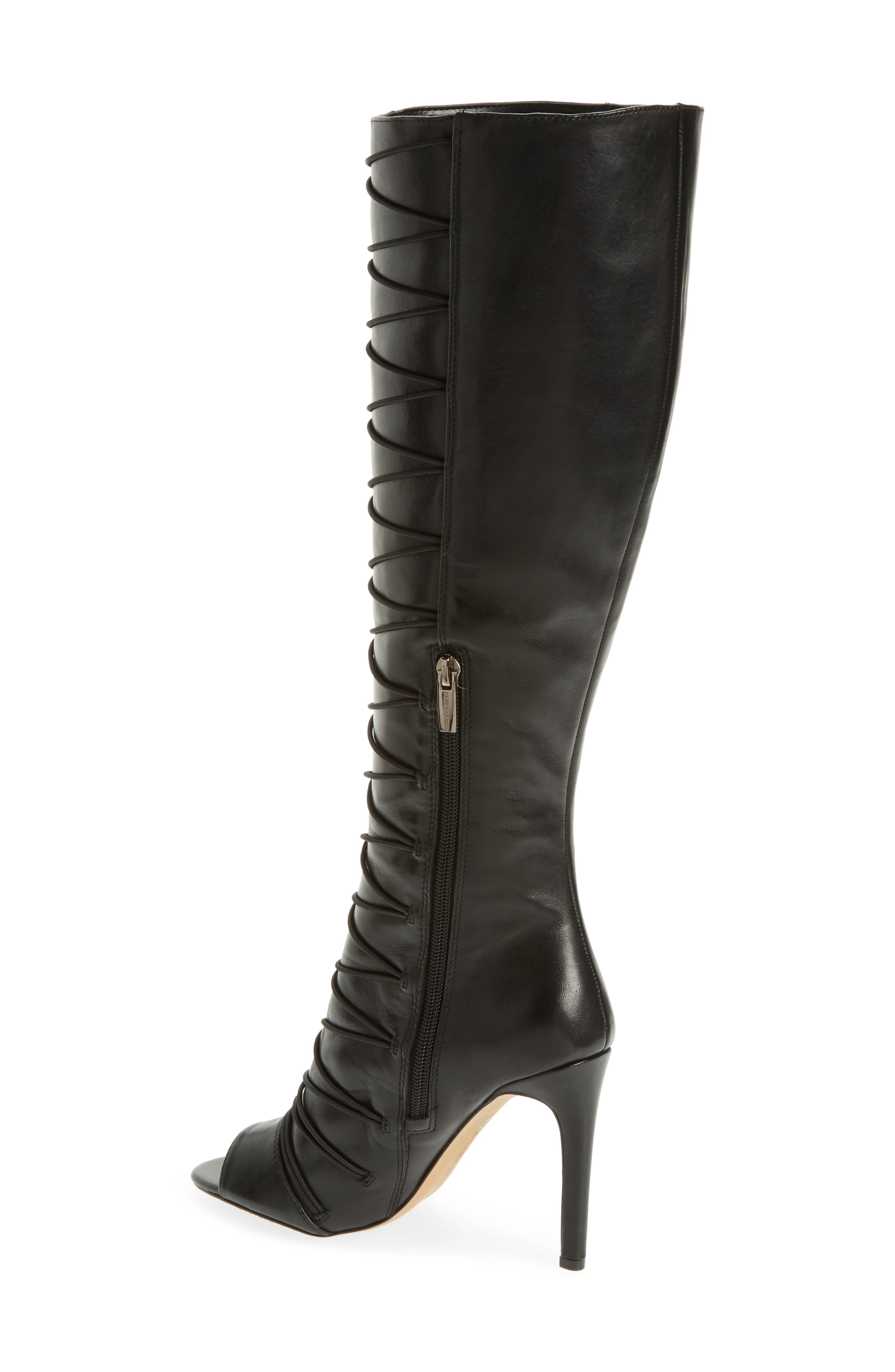 Kentra Strappy Tall Boot,                             Alternate thumbnail 2, color,                             001