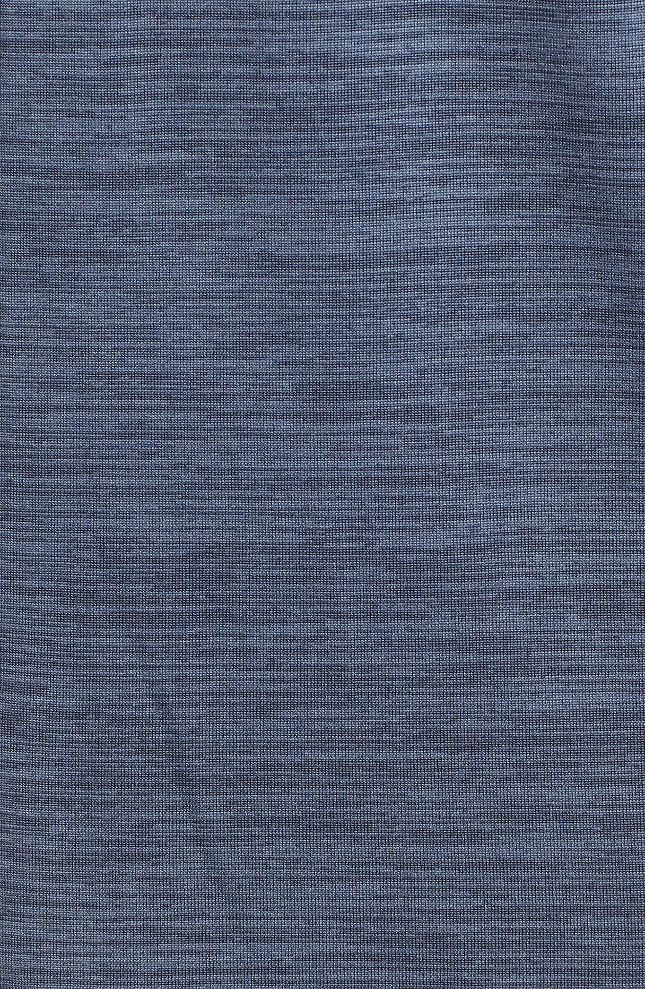 Dry Seamless Half Zip Golf Pullover,                             Alternate thumbnail 5, color,                             021