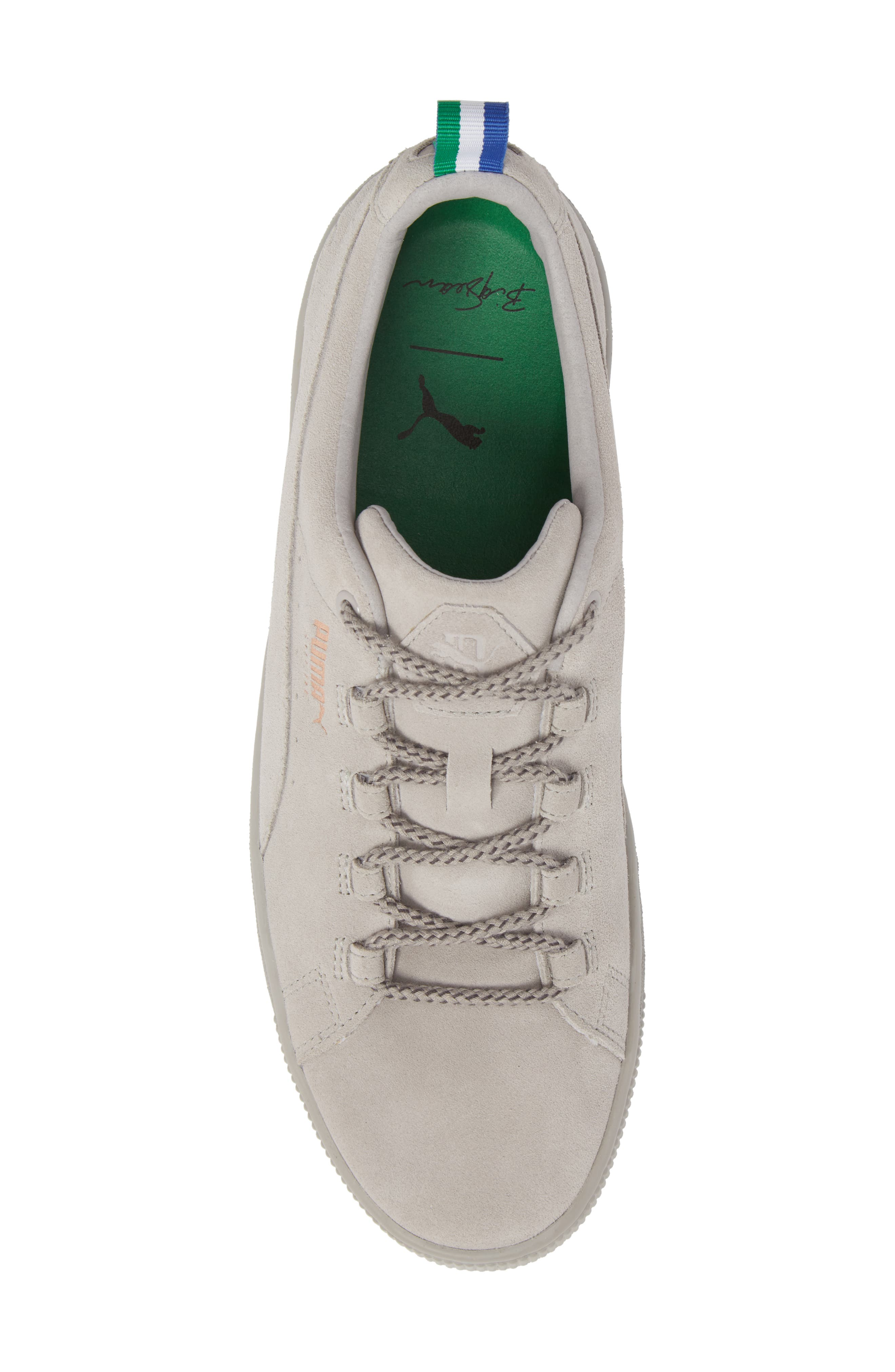 x Big Sean Suede Sneaker,                             Alternate thumbnail 5, color,                             060