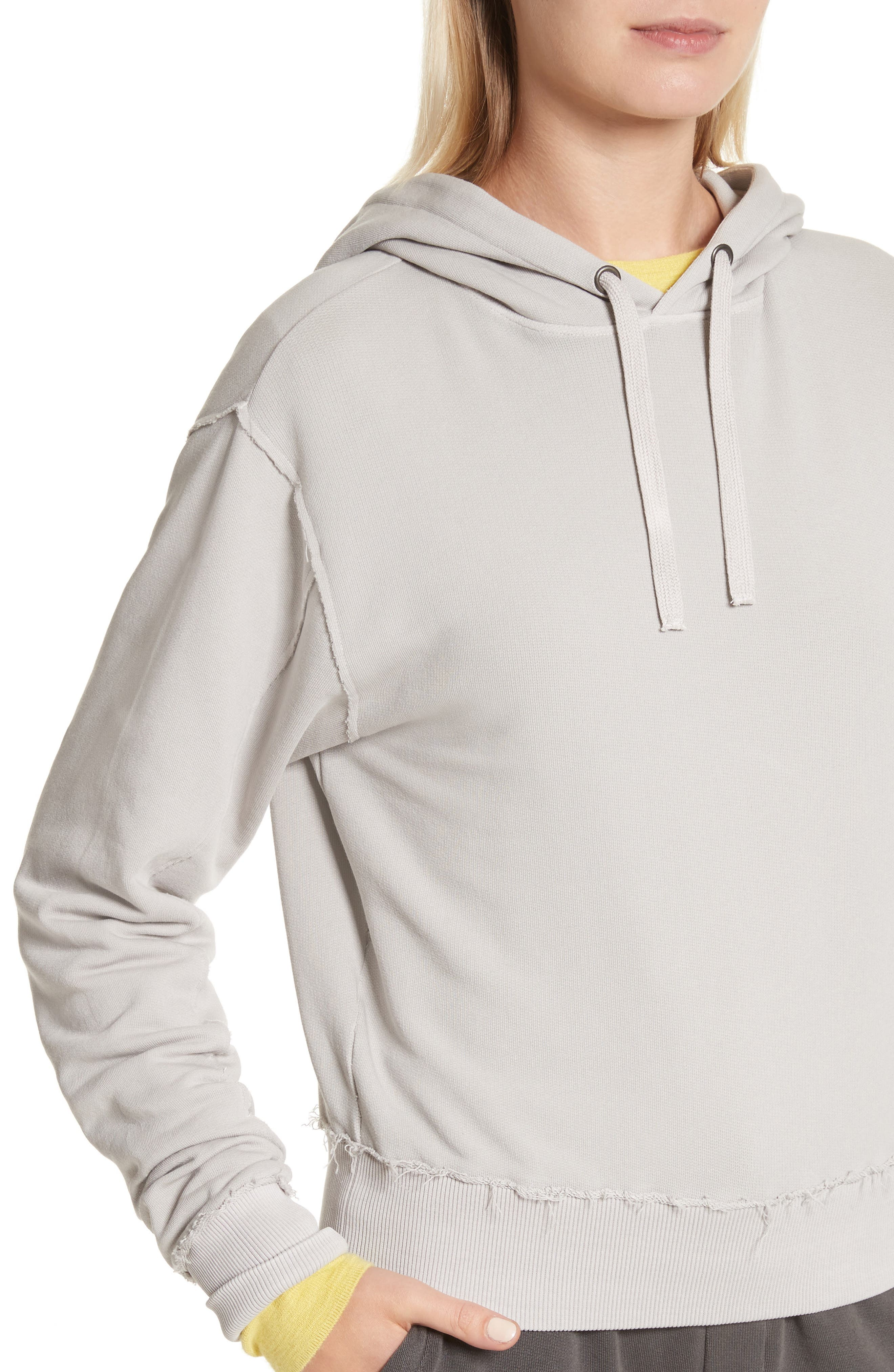 Raw Edge Hoodie,                             Alternate thumbnail 14, color,