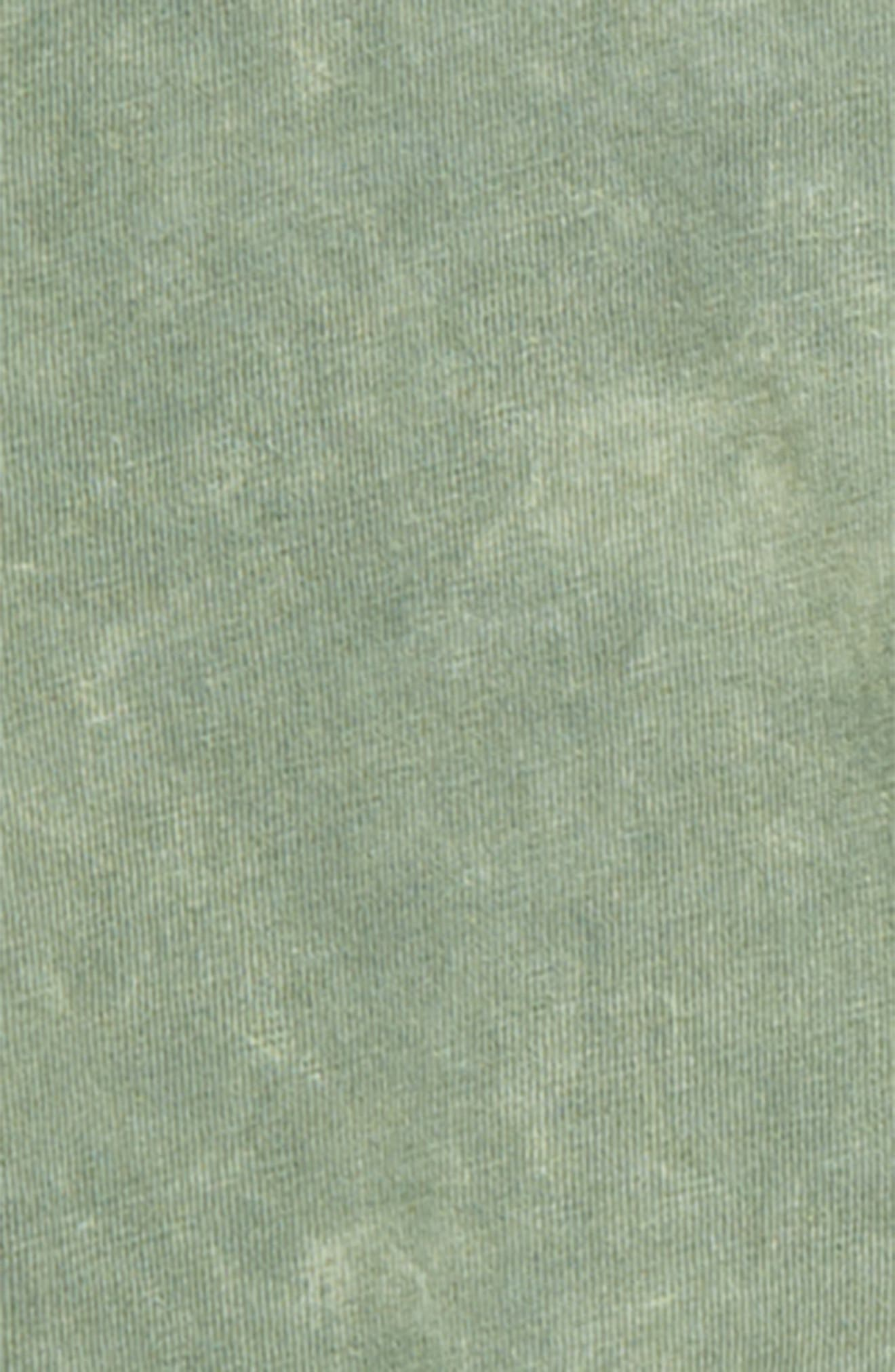 Washed Pocket T-Shirt,                             Alternate thumbnail 2, color,                             GREEN AGAVE