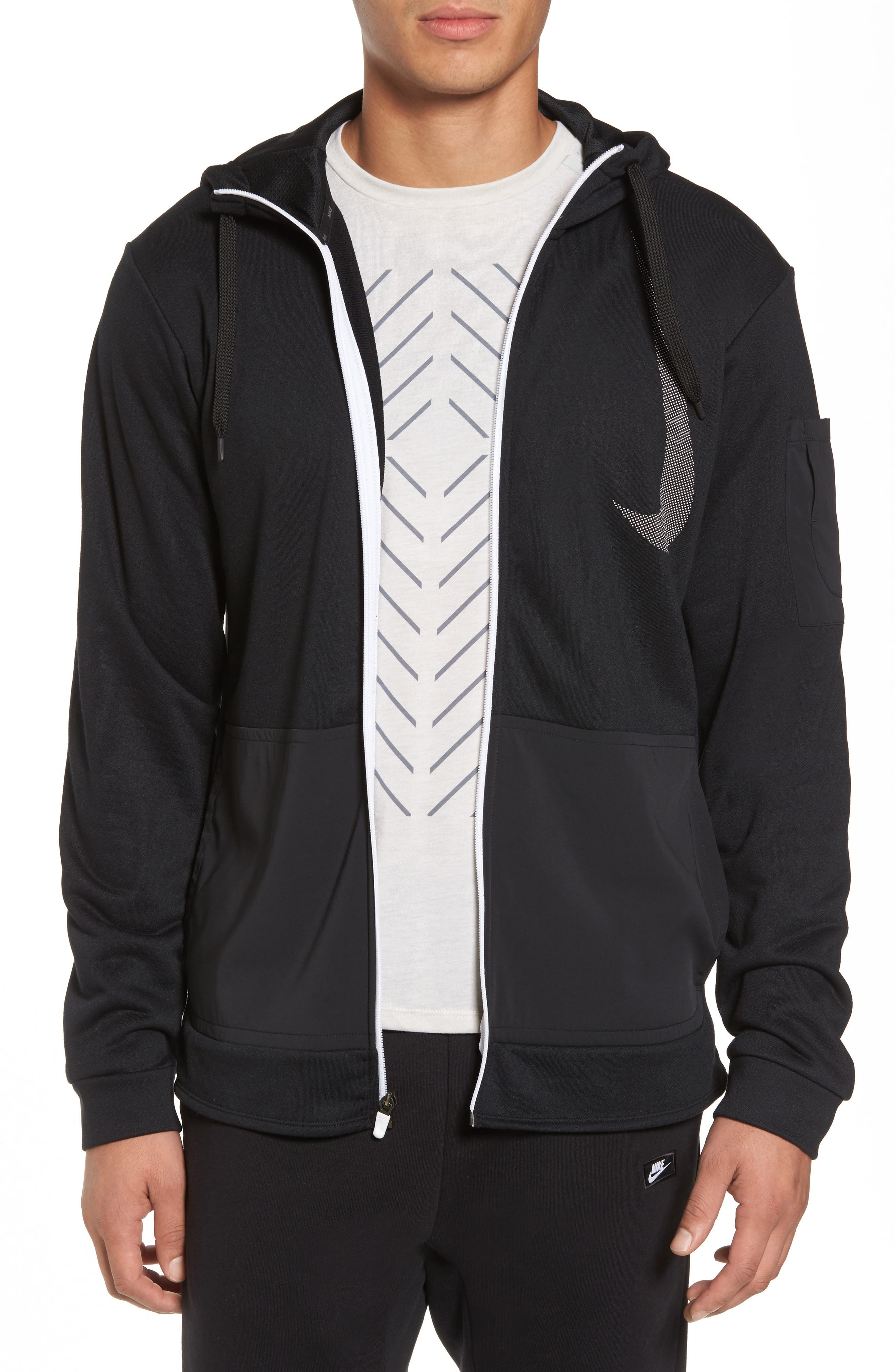 Training Dry PX Zip Hoodie,                             Main thumbnail 1, color,                             010