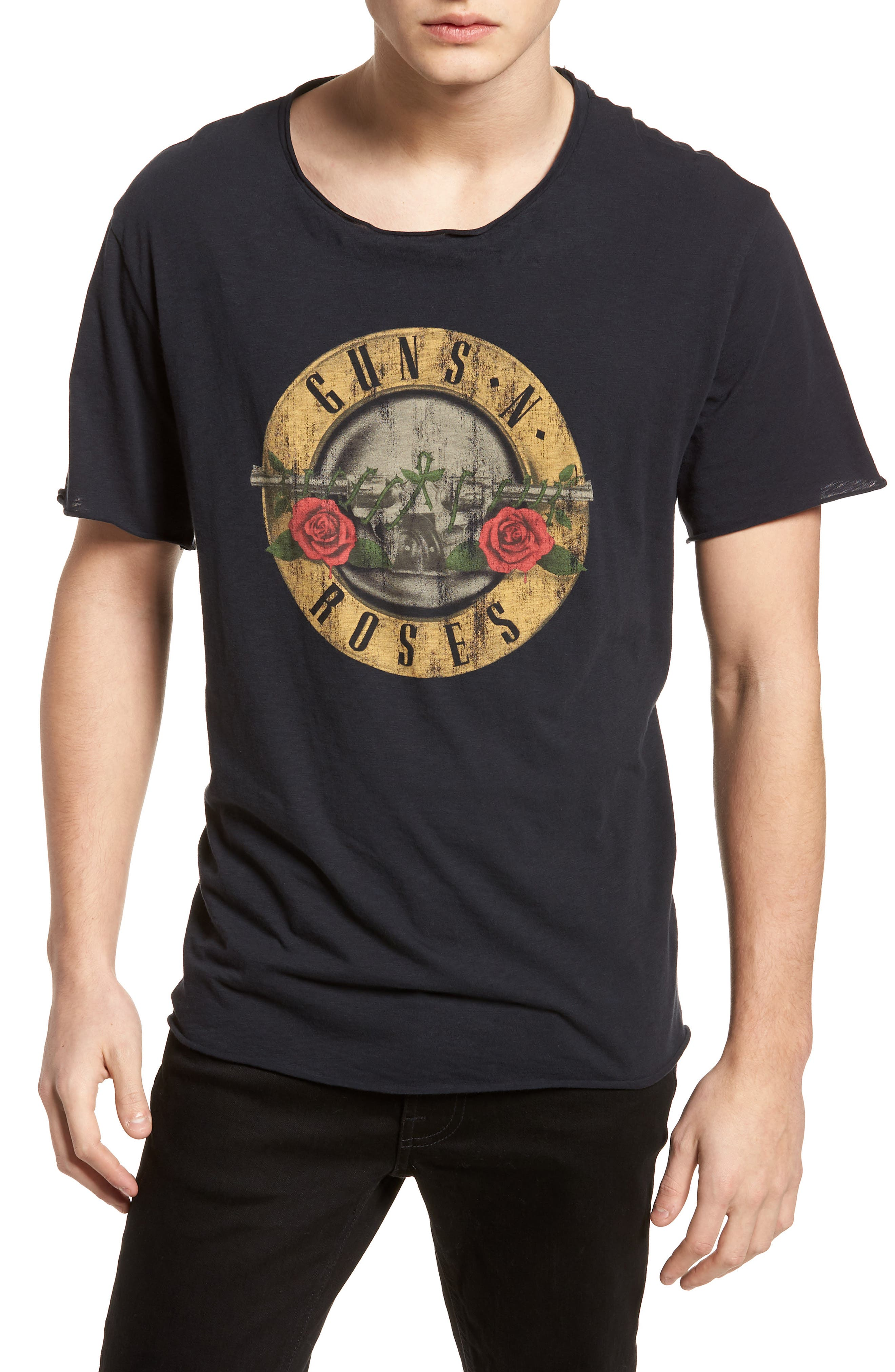 Guns N Roses Trim Fit T-Shirt,                             Main thumbnail 1, color,