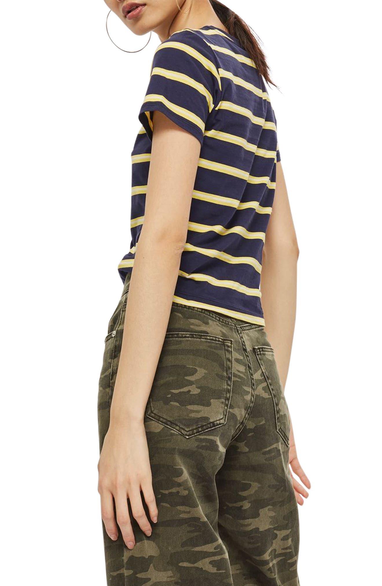 70s Stripe T-Shirt,                             Alternate thumbnail 2, color,                             411