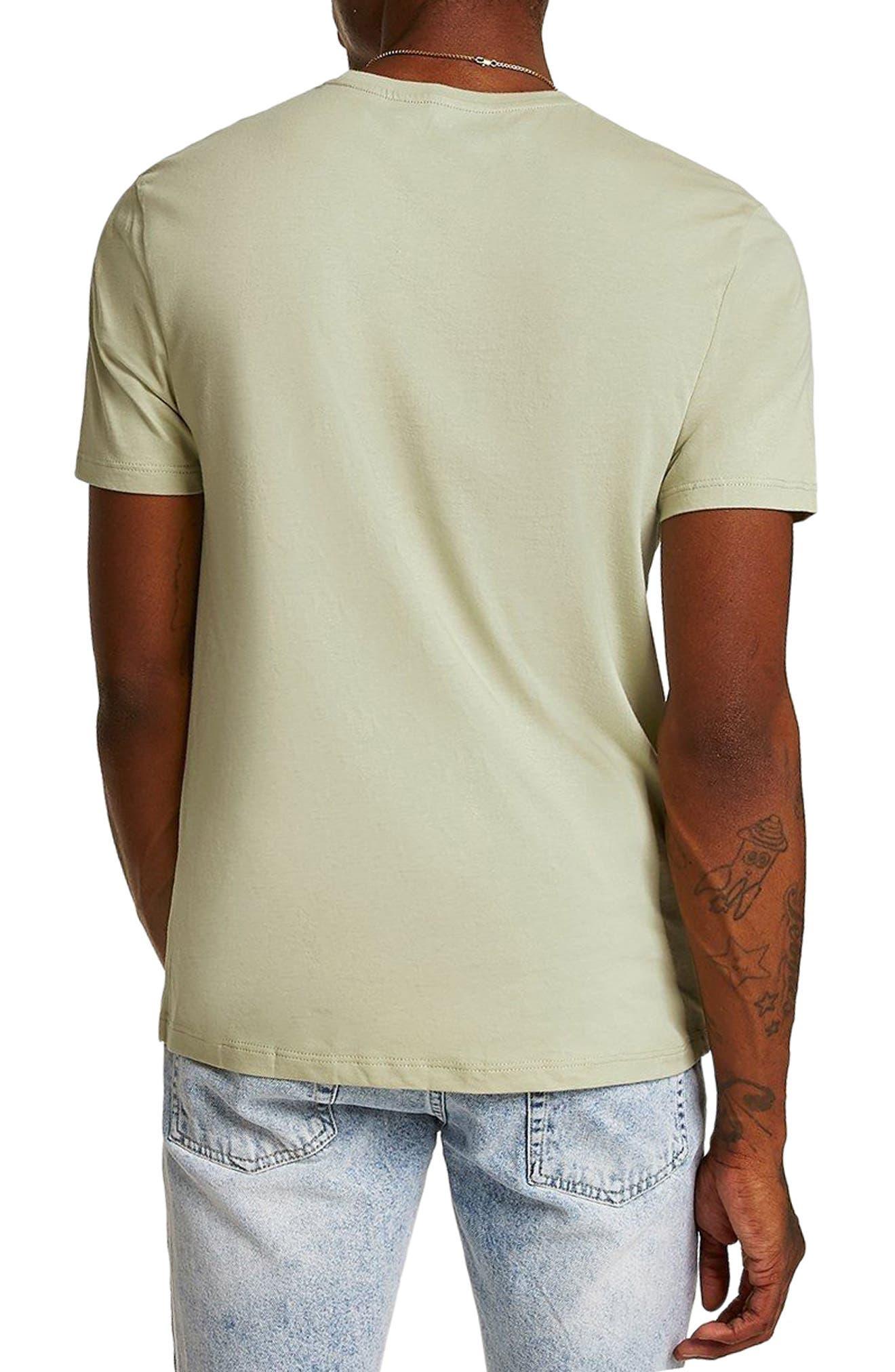 Slim Fit Crewneck T-Shirt,                             Alternate thumbnail 104, color,