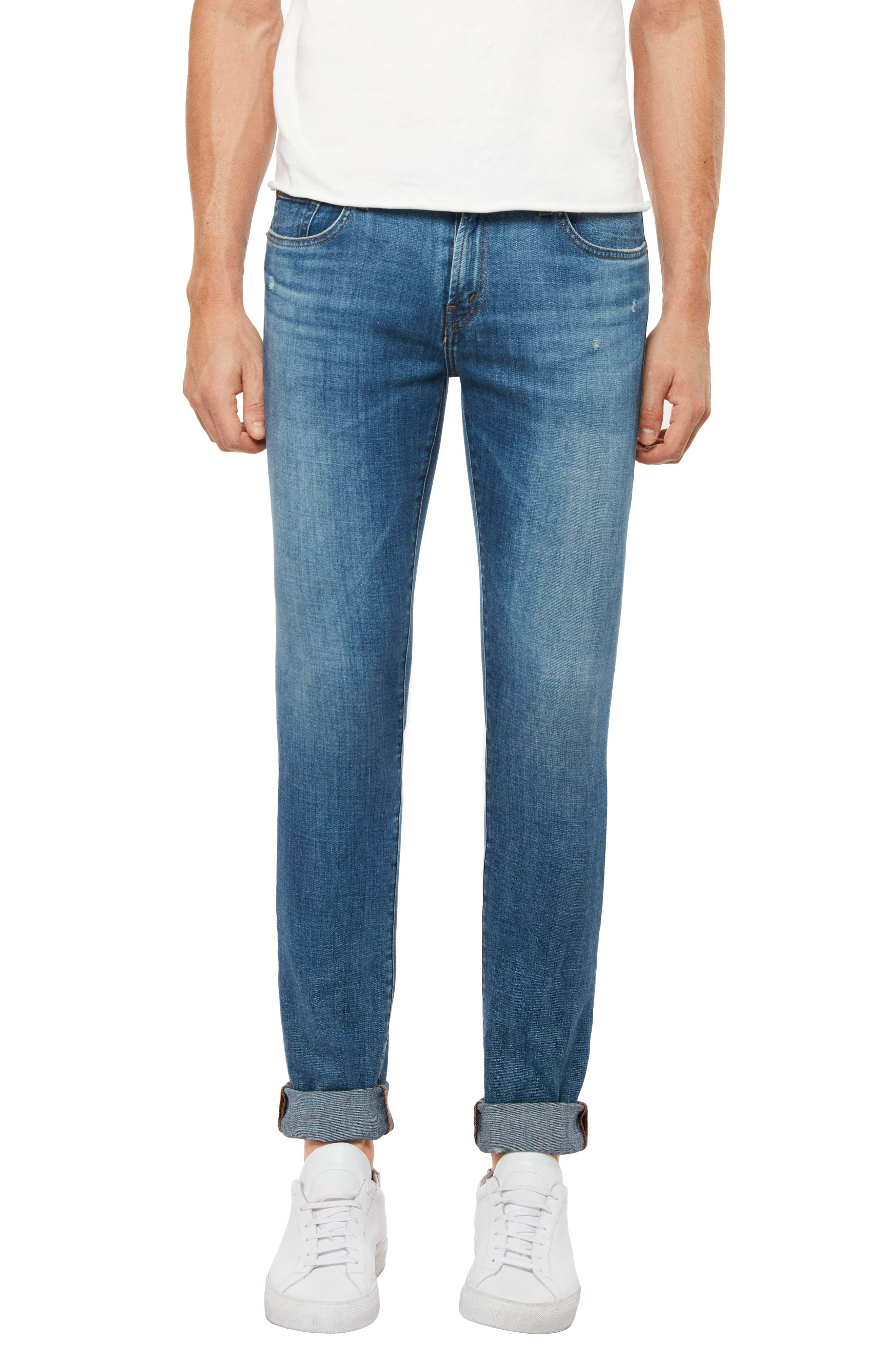 Tyler Slim Fit Jeans,                             Main thumbnail 1, color,                             SINTER