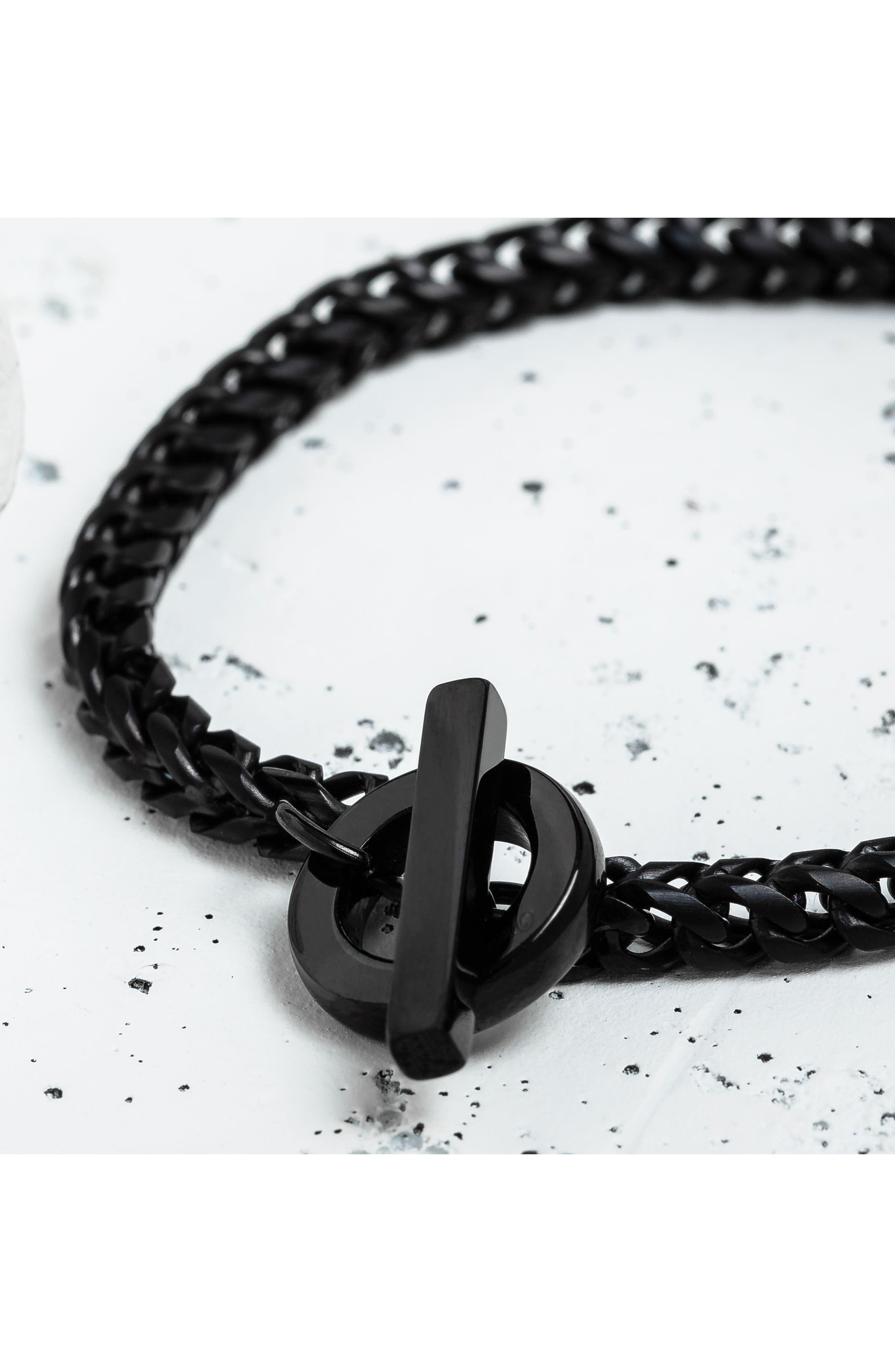 Cirkel Chain Bracelet,                             Alternate thumbnail 3, color,                             001