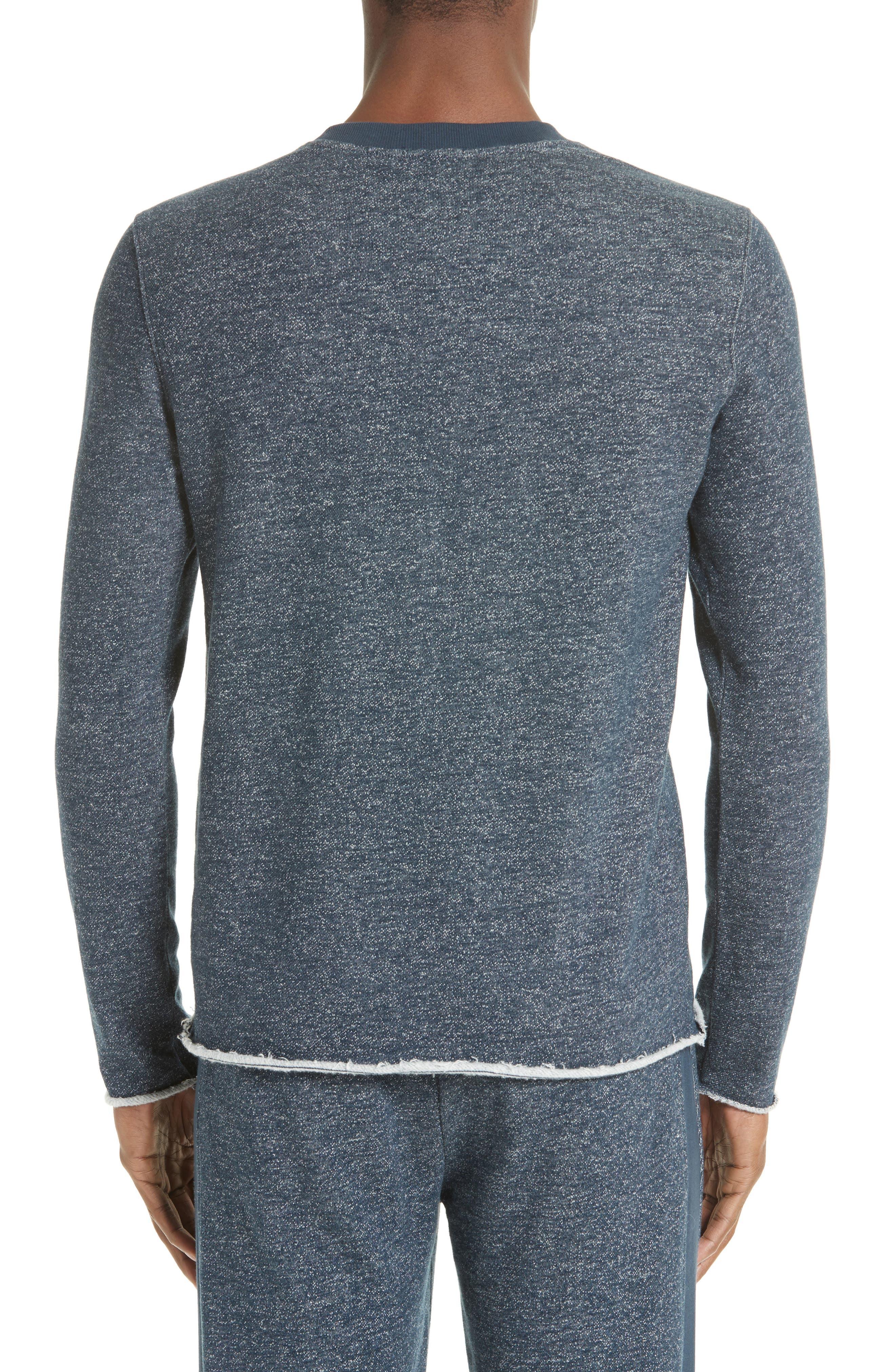 Raw Cut Terry Sweatshirt,                         Main,                         color, 410