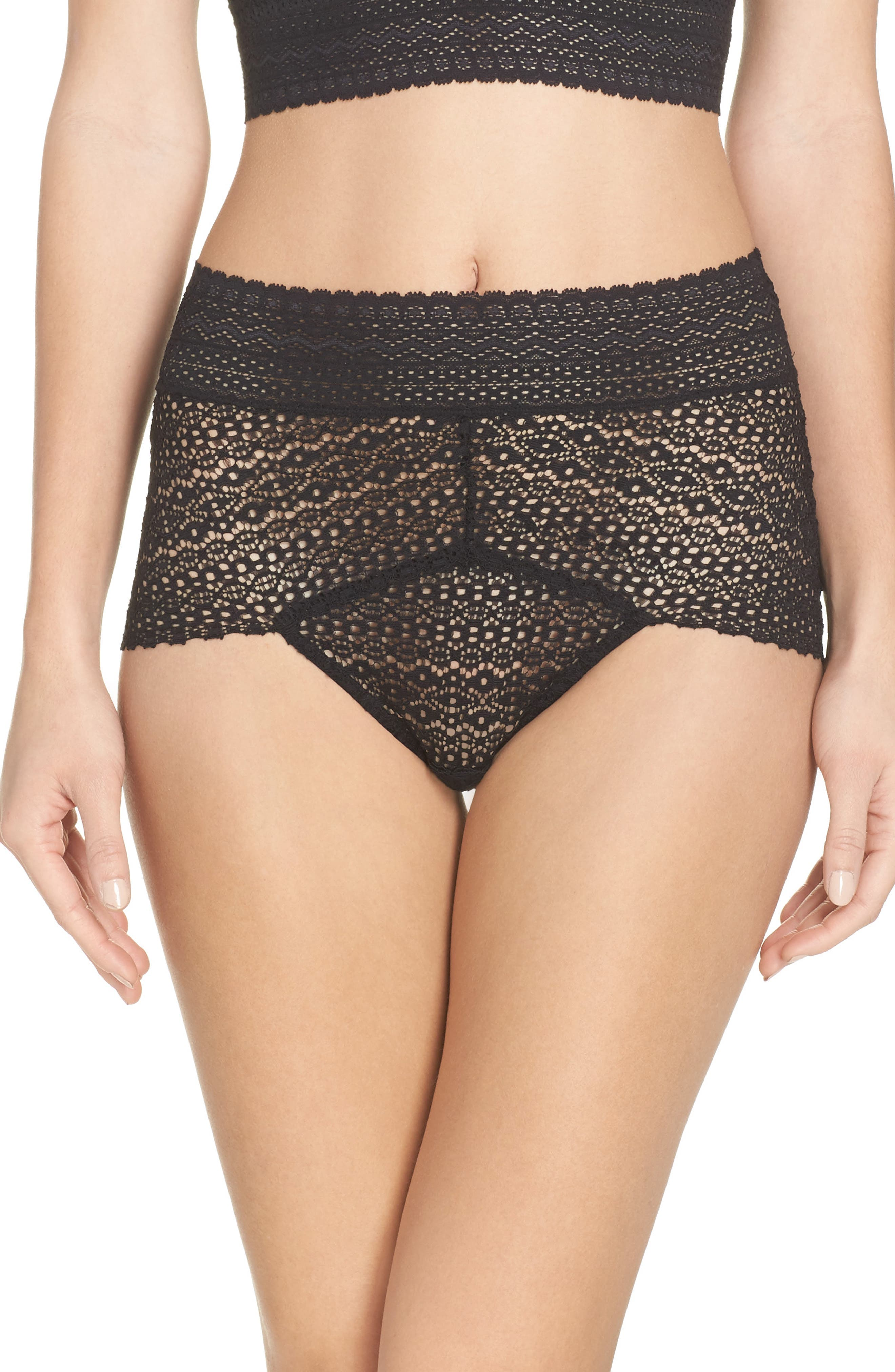 Rumi High Waist Briefs,                             Main thumbnail 1, color,                             001