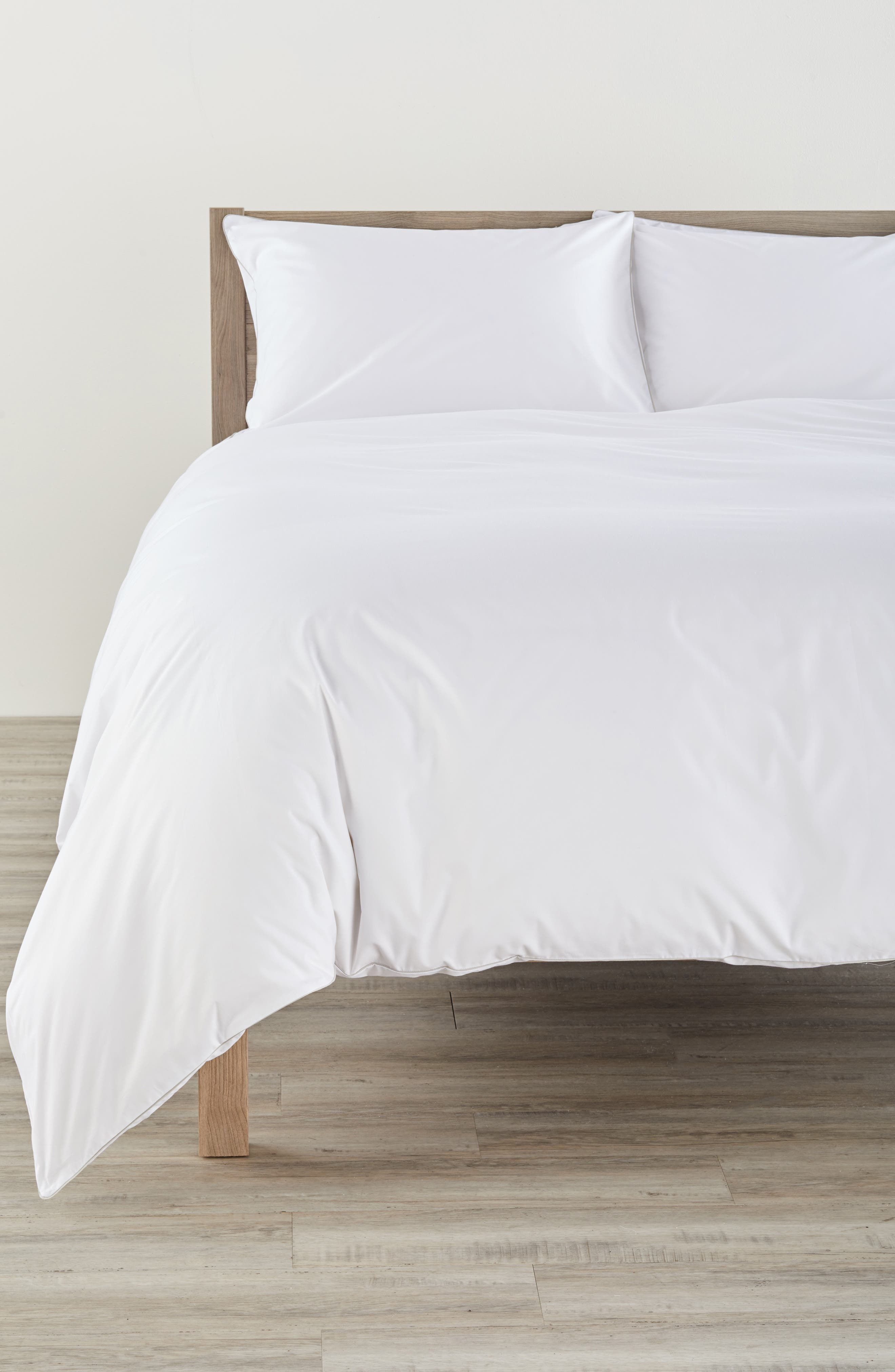 Series 1 500 Thread Count Duvet Cover,                         Main,                         color, GREY