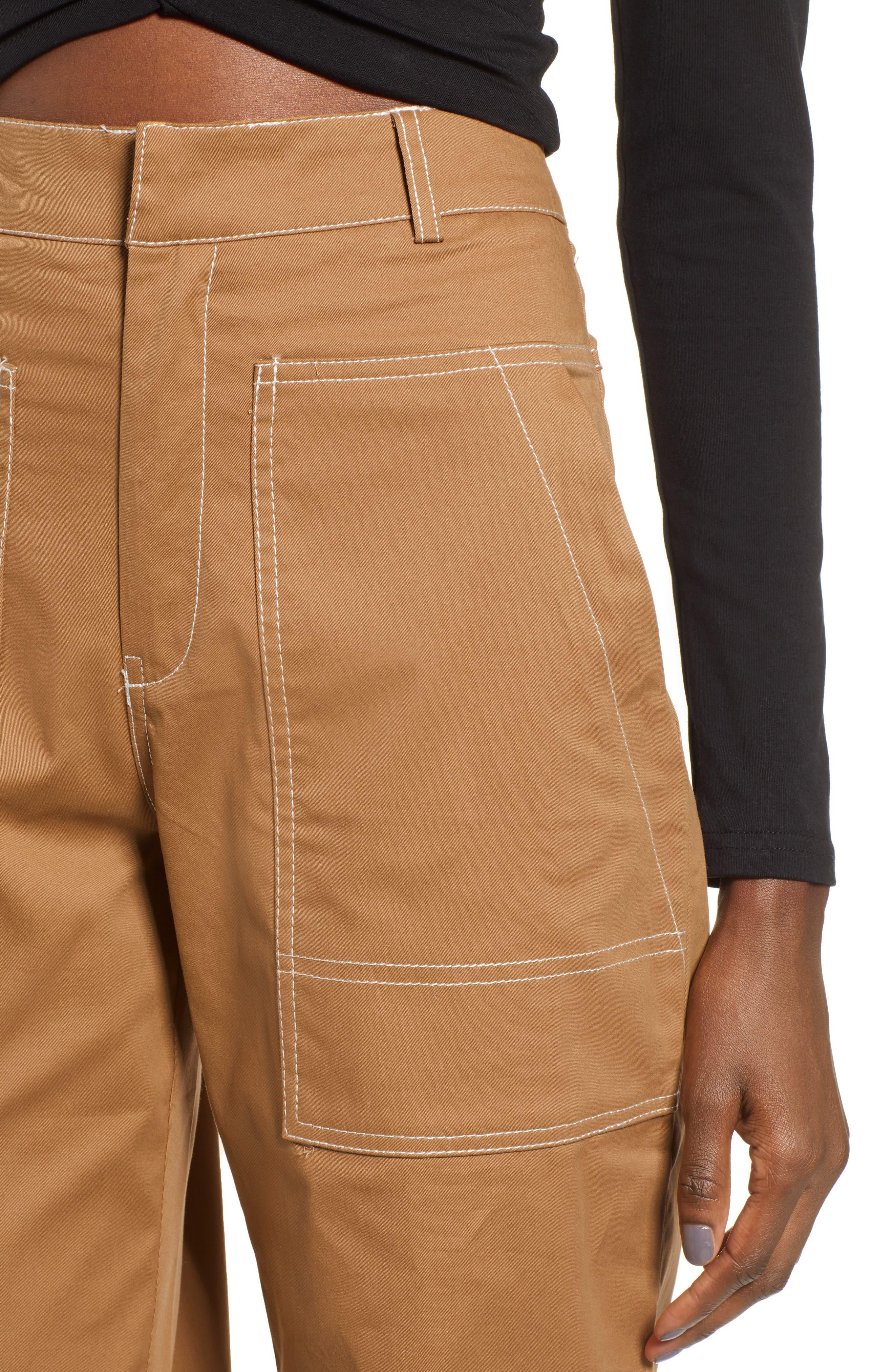 Ada Wide Leg Pants,                             Alternate thumbnail 4, color,                             250