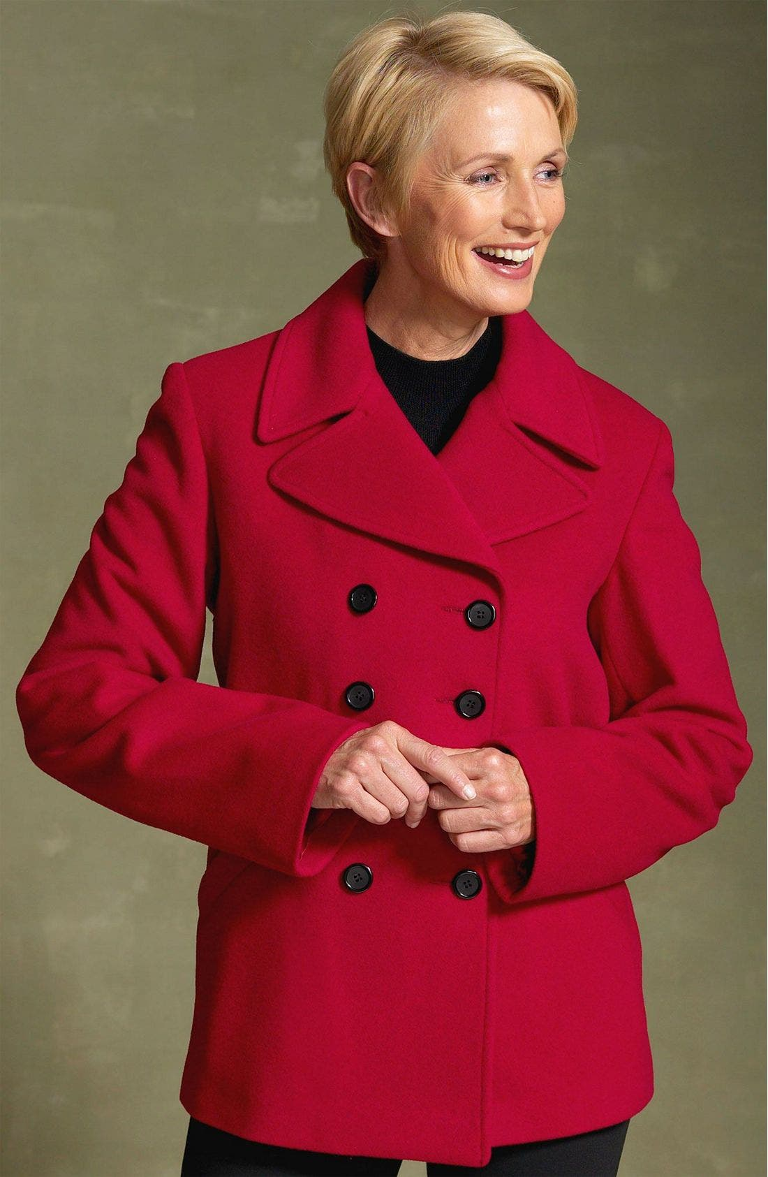 Cashmere Blend Jacket, Main, color, BLK