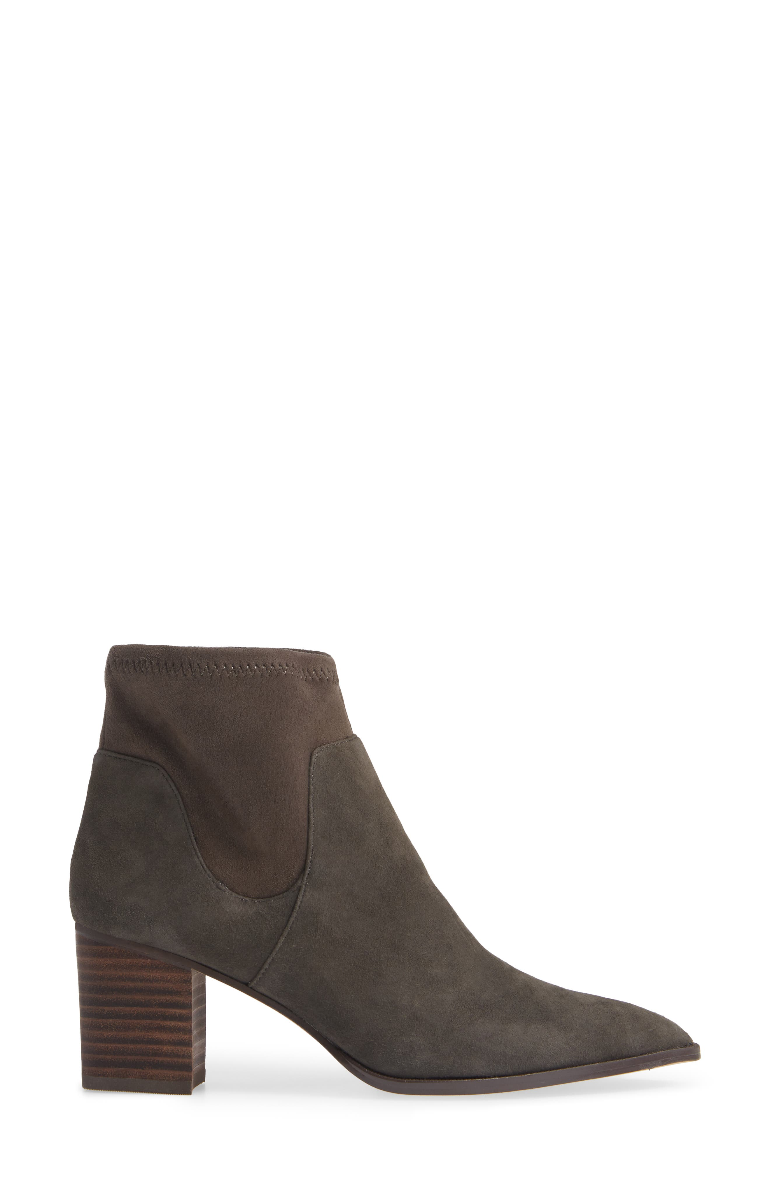 Dawnina Bootie,                             Alternate thumbnail 3, color,                             IRON SUEDE