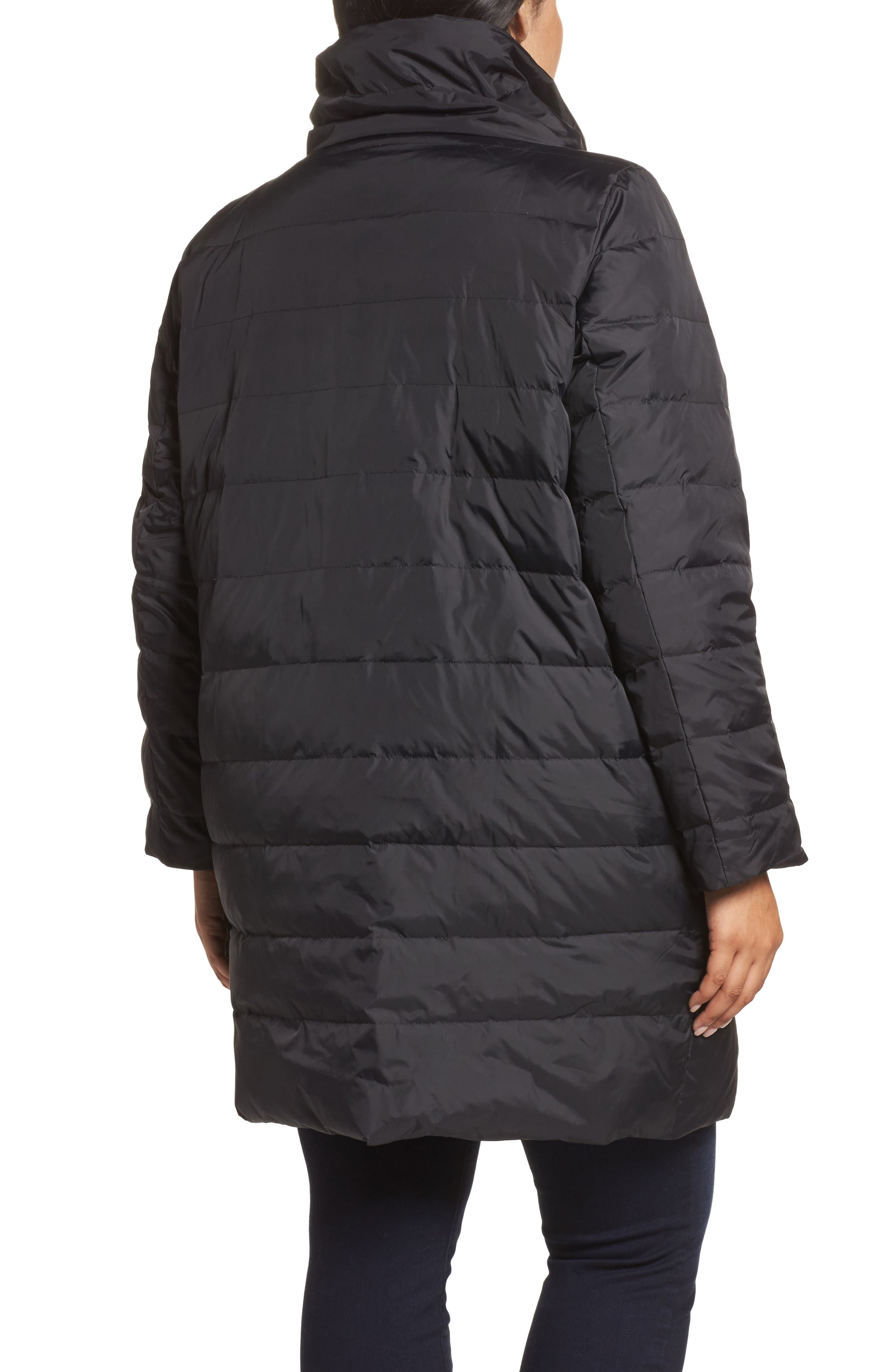 Down Puffer Coat,                             Alternate thumbnail 3, color,