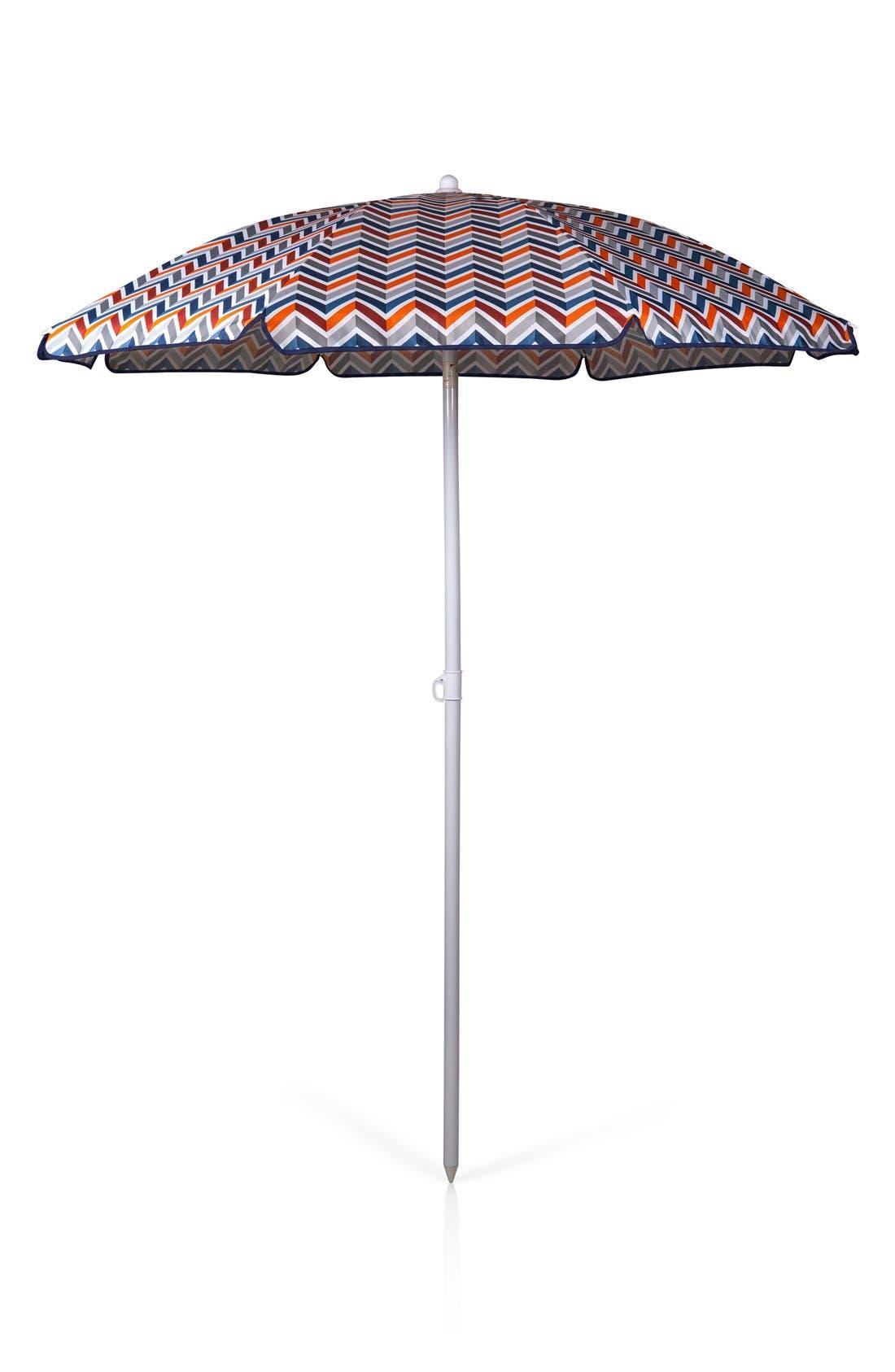 Beach & Picnic Umbrella,                             Main thumbnail 1, color,                             BLUE