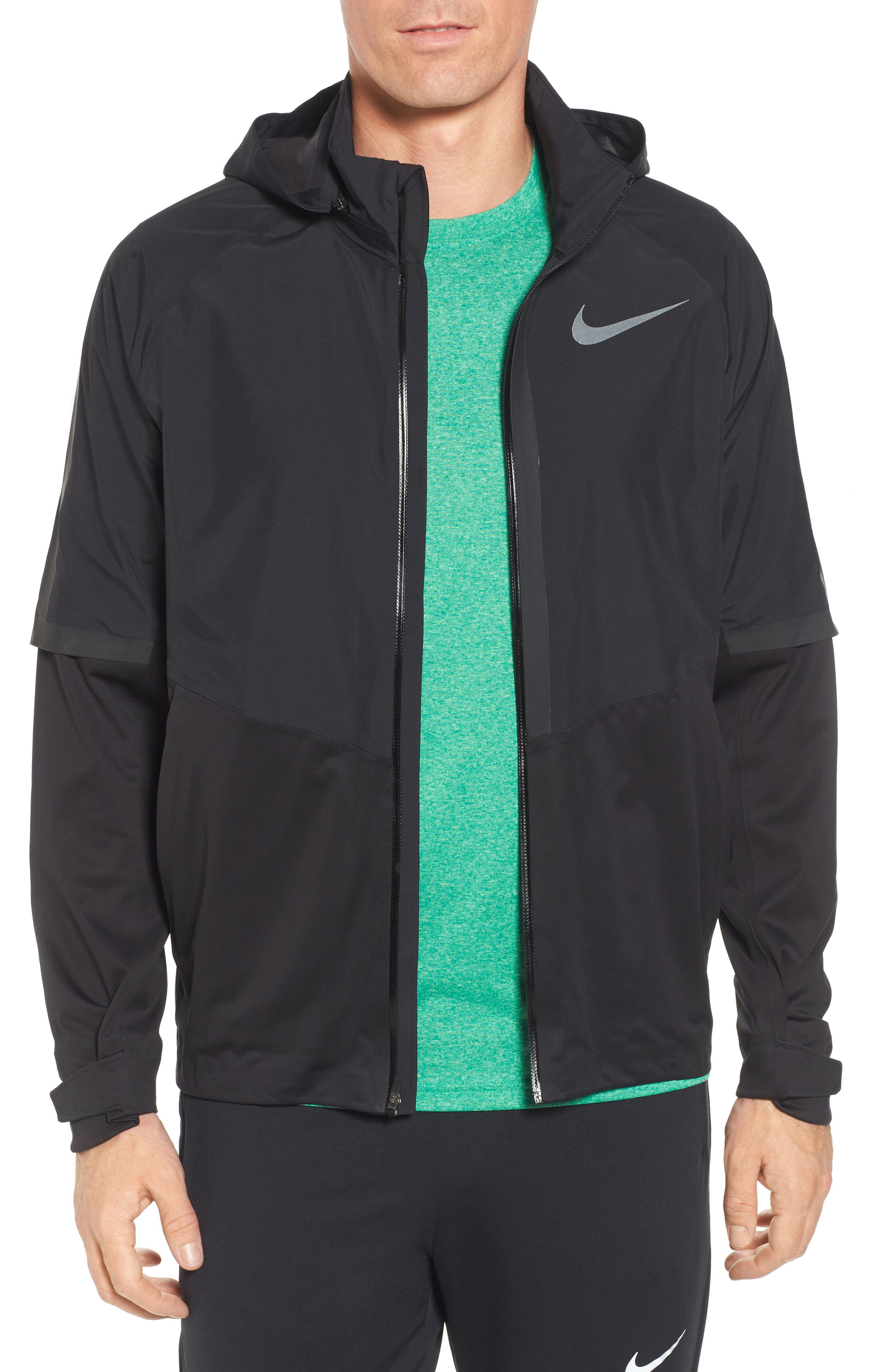 AeroShield Running Jacket, Main, color, 010