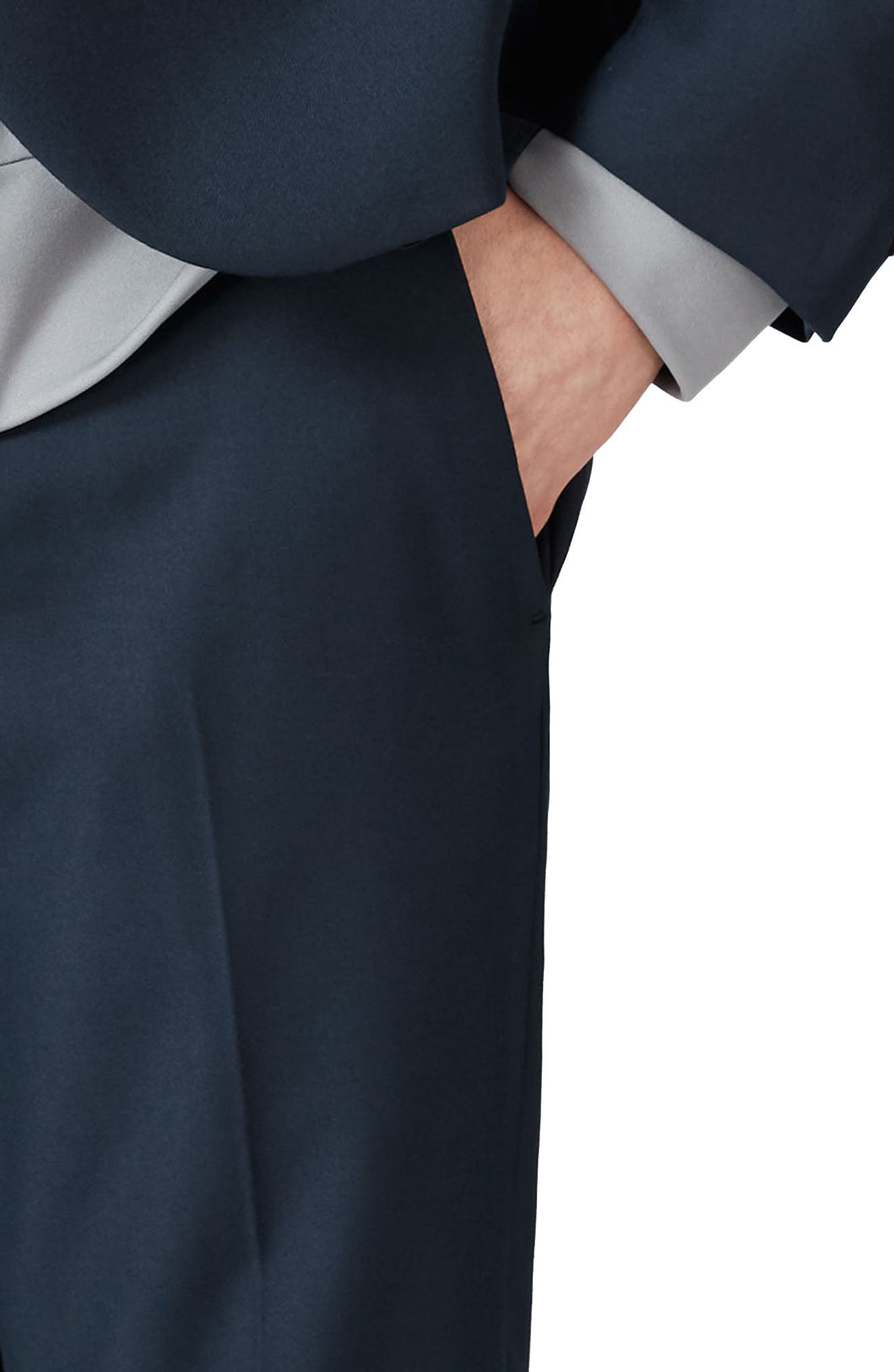 Skinny Fit Suit Trousers,                             Alternate thumbnail 3, color,                             420