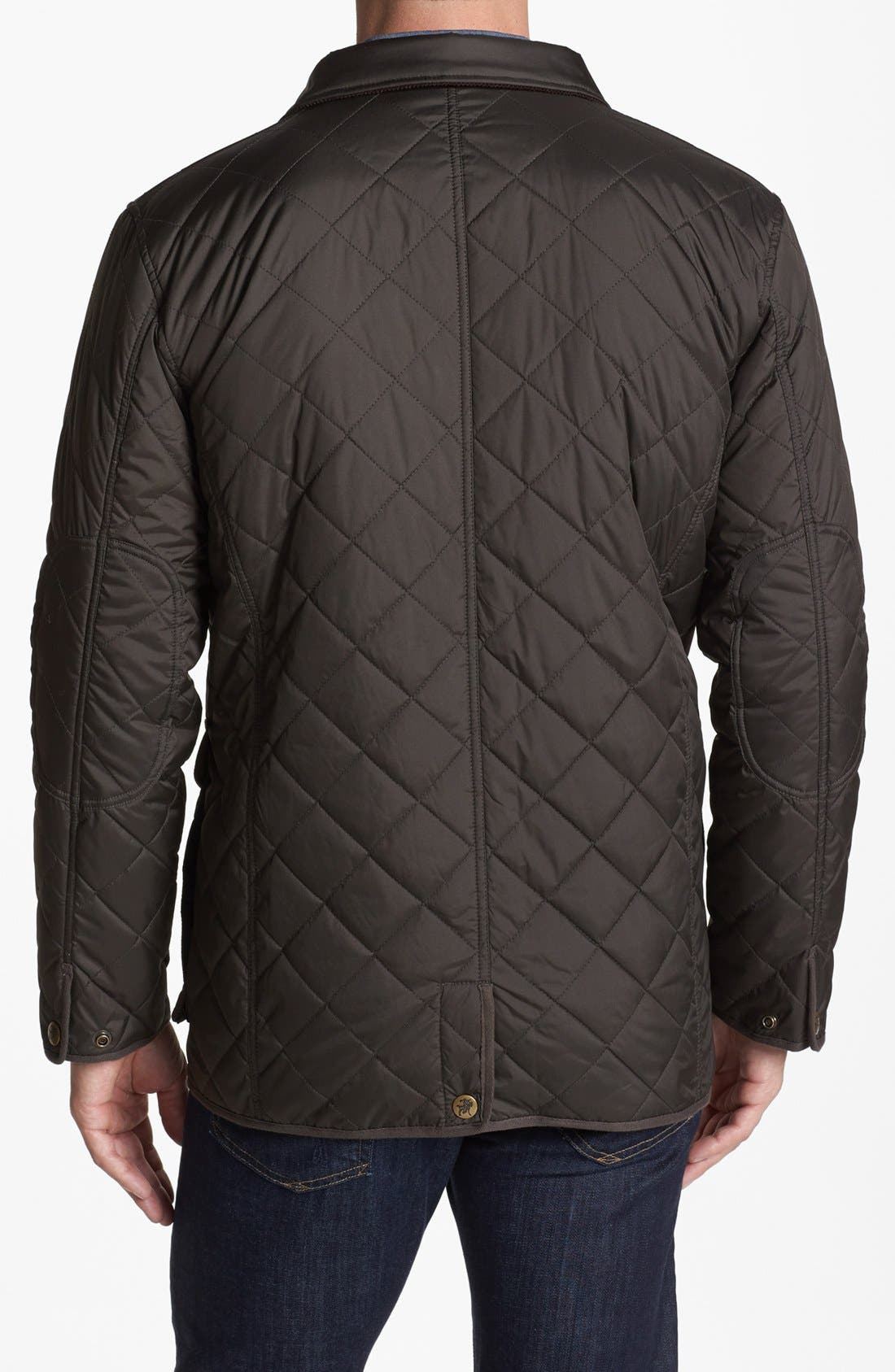'Middlebury' Quilted Jacket,                             Alternate thumbnail 3, color,                             346