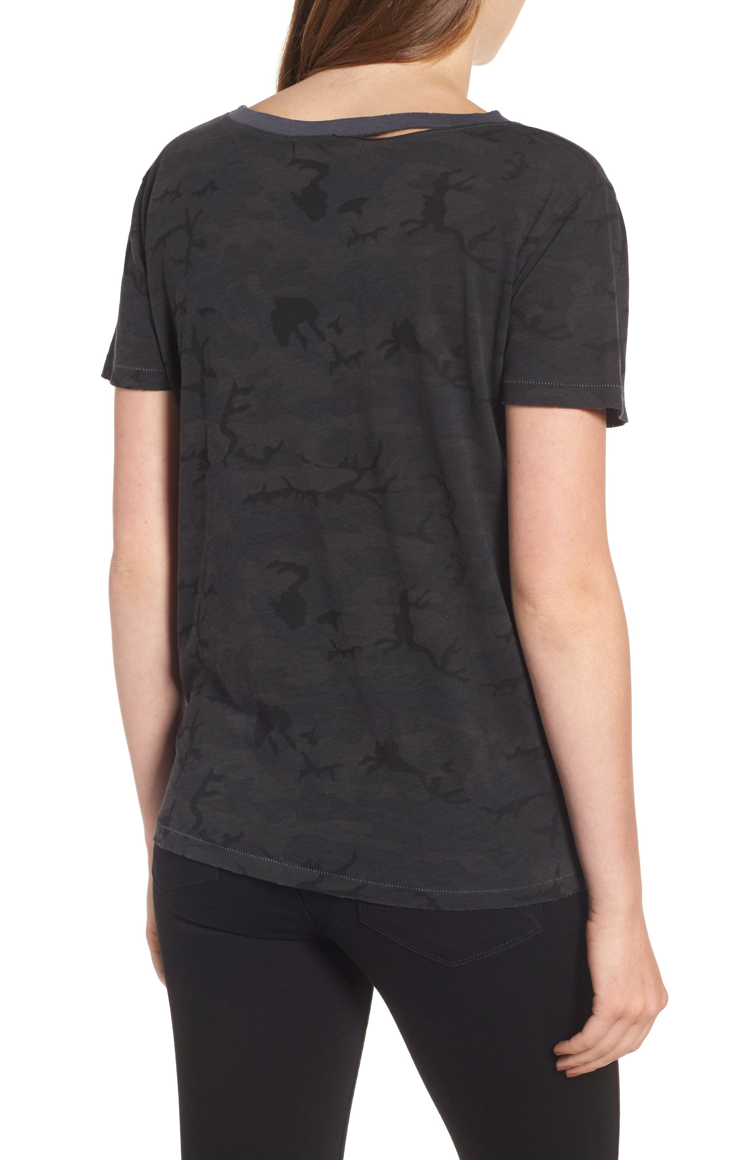 Harlow Deconstructed Tee,                             Alternate thumbnail 2, color,                             310