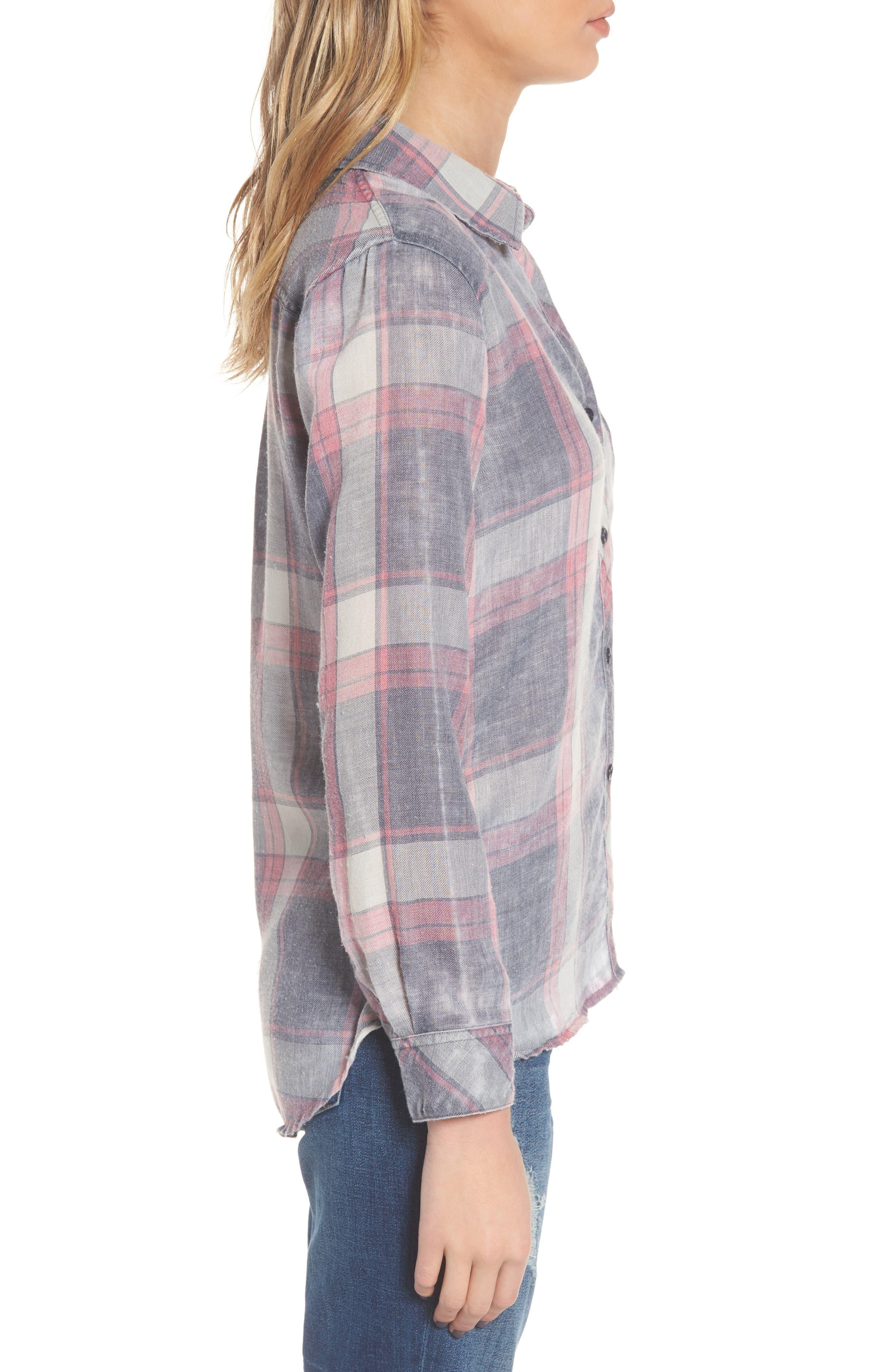 Hunter Plaid Shirt,                             Alternate thumbnail 363, color,