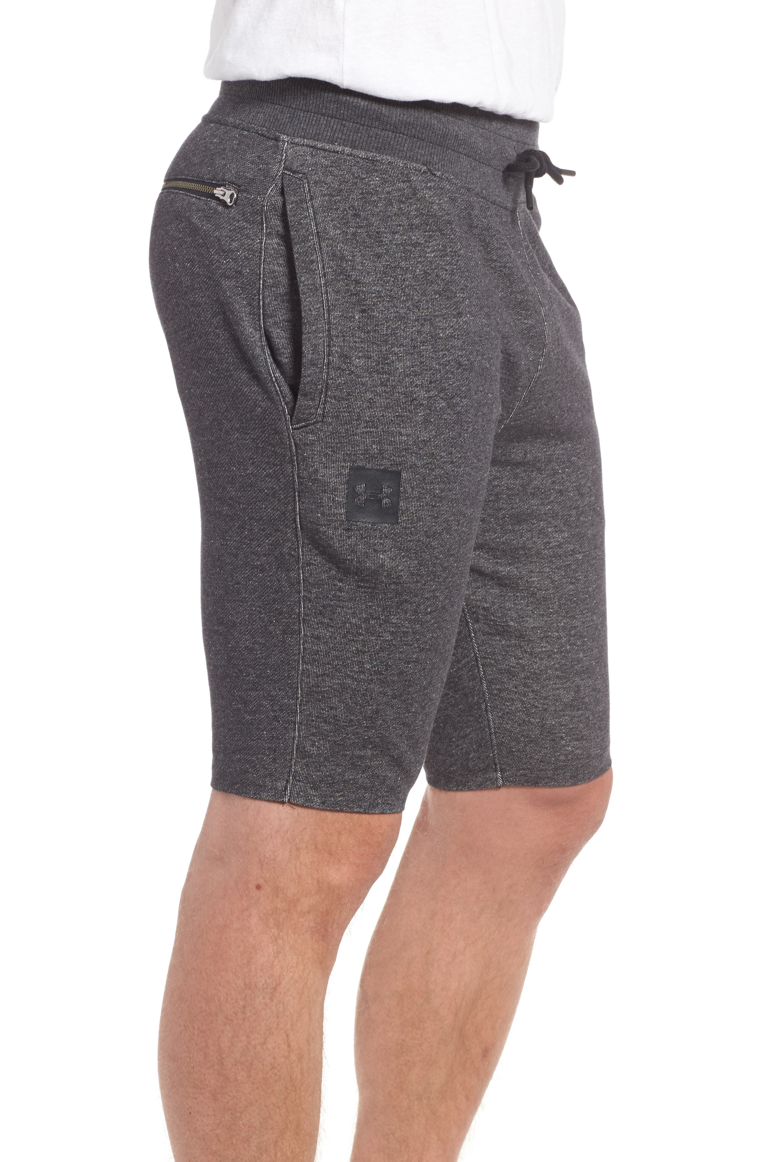 Terry Knit Athletic Shorts,                             Alternate thumbnail 3, color,                             020