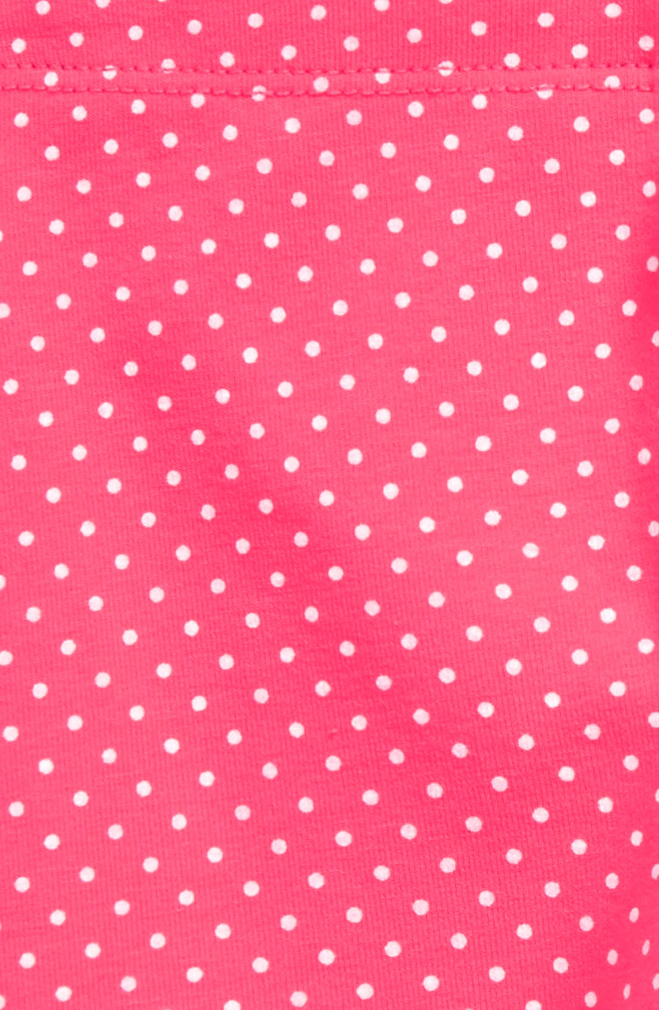Pin Dot Leggings,                             Alternate thumbnail 7, color,