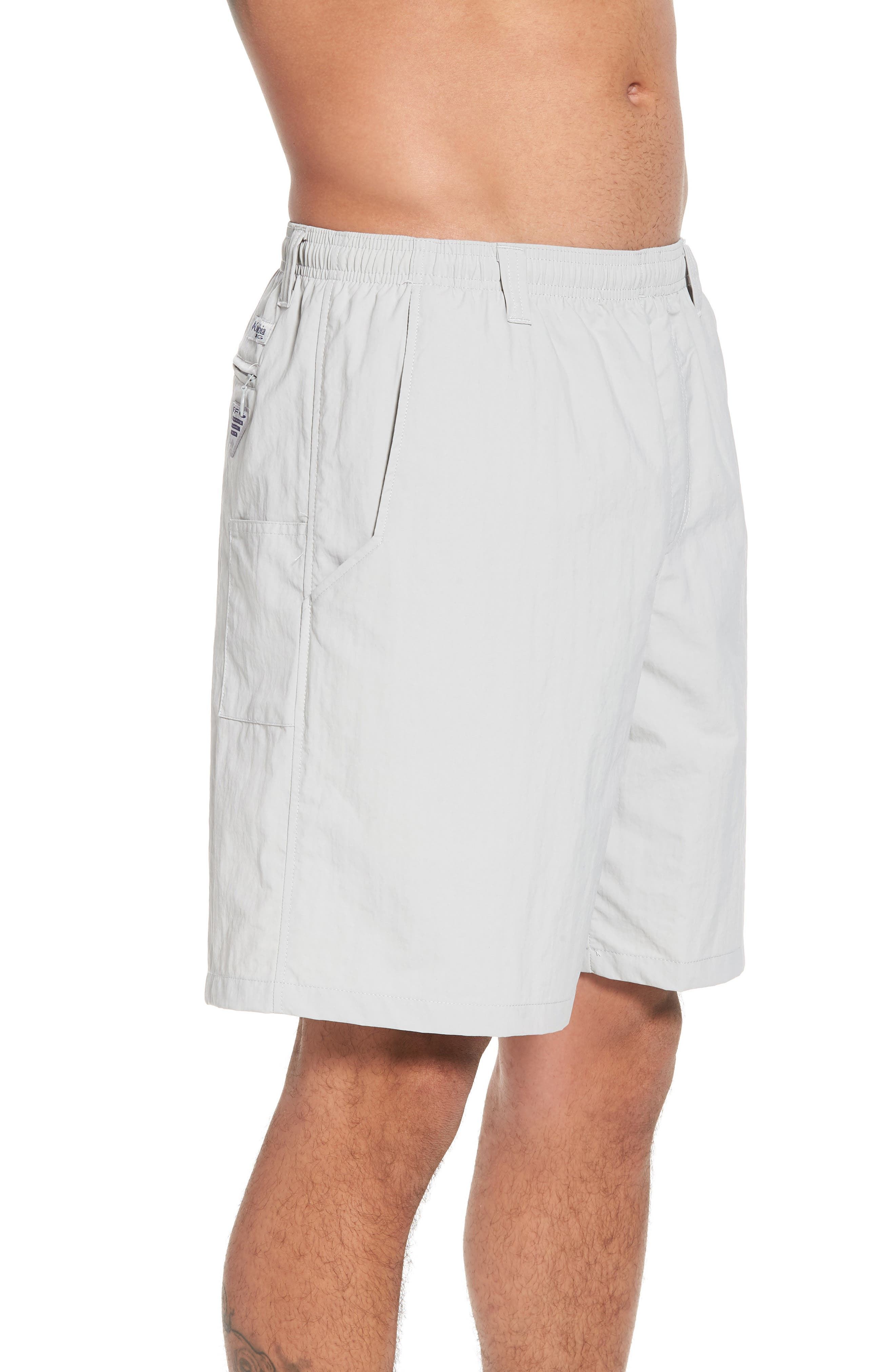 Backcast III Swim Trunks,                             Alternate thumbnail 3, color,                             COOL GREY