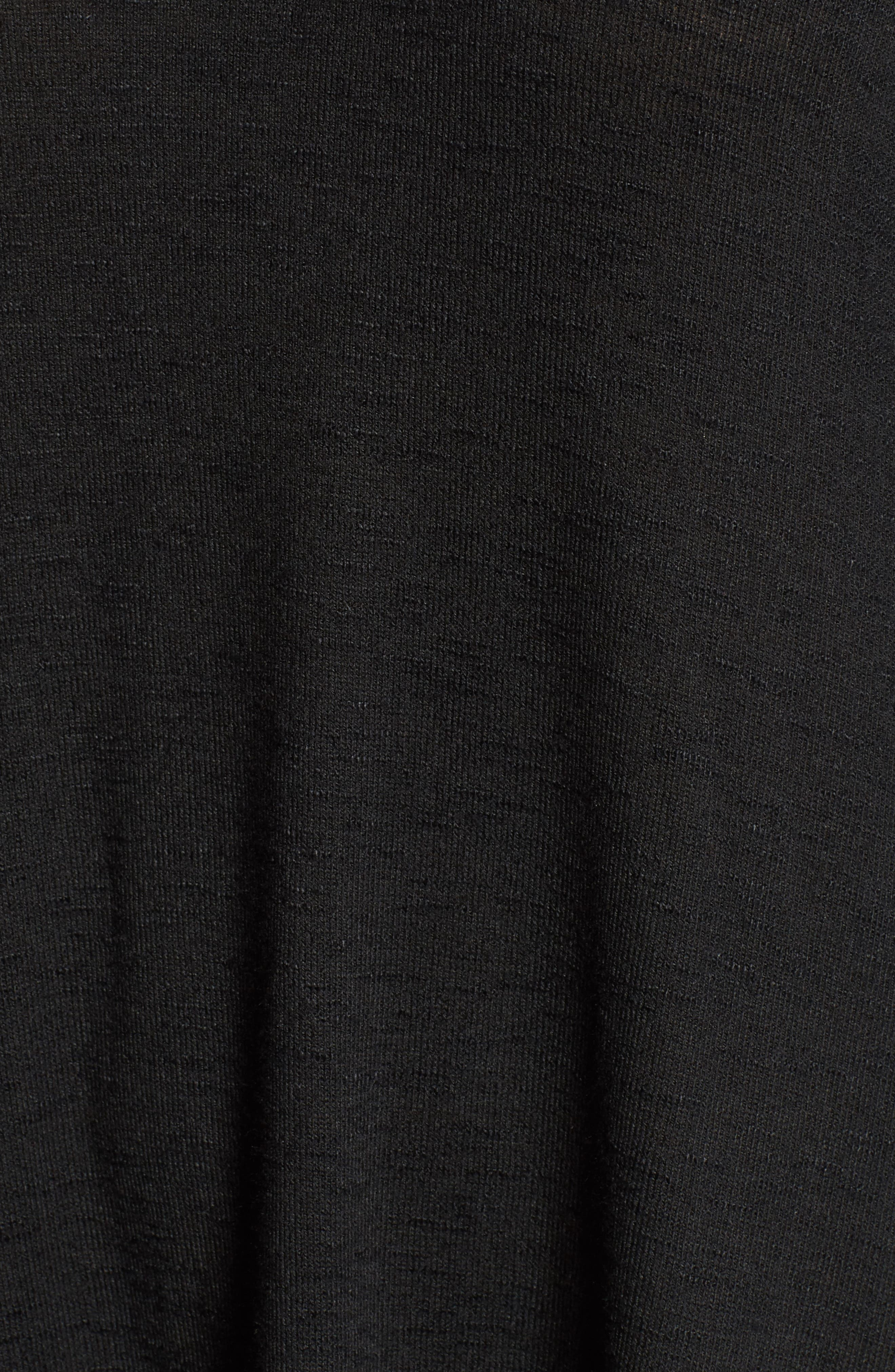 Knit Puff Shoulder Dress,                             Alternate thumbnail 9, color,