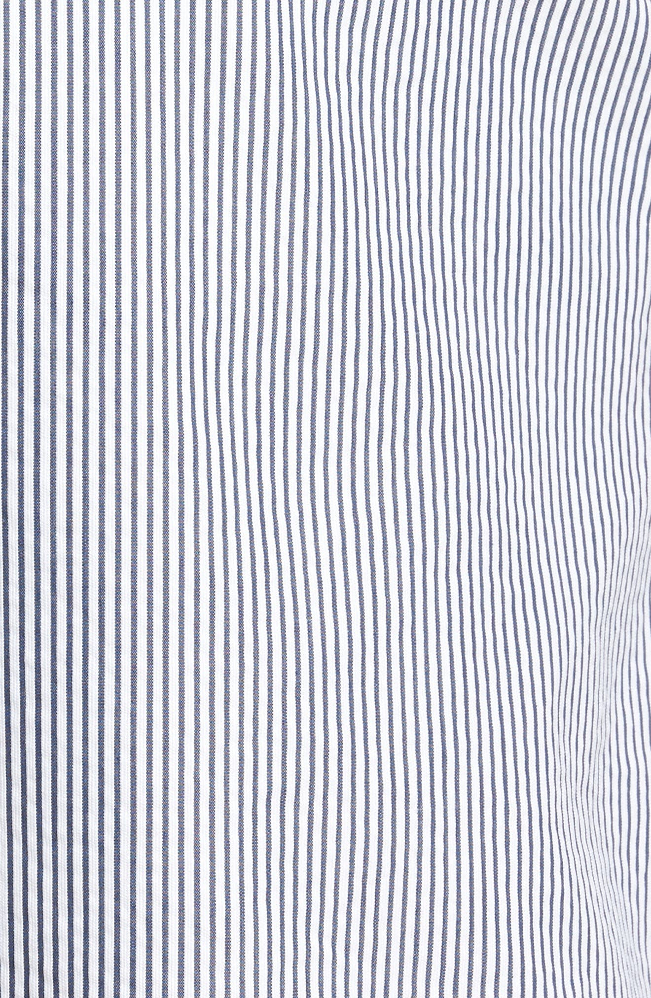 Ballard Slim Fit Seersucker Shorts,                             Alternate thumbnail 5, color,                             410