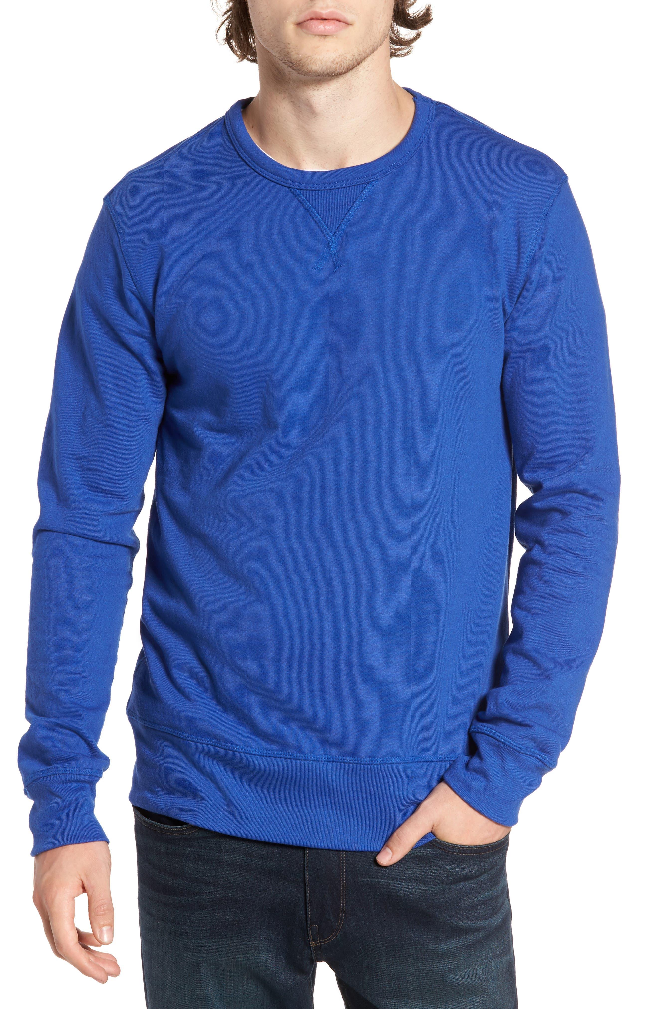 B-Side Reversible Crewneck Sweatshirt,                             Main thumbnail 6, color,