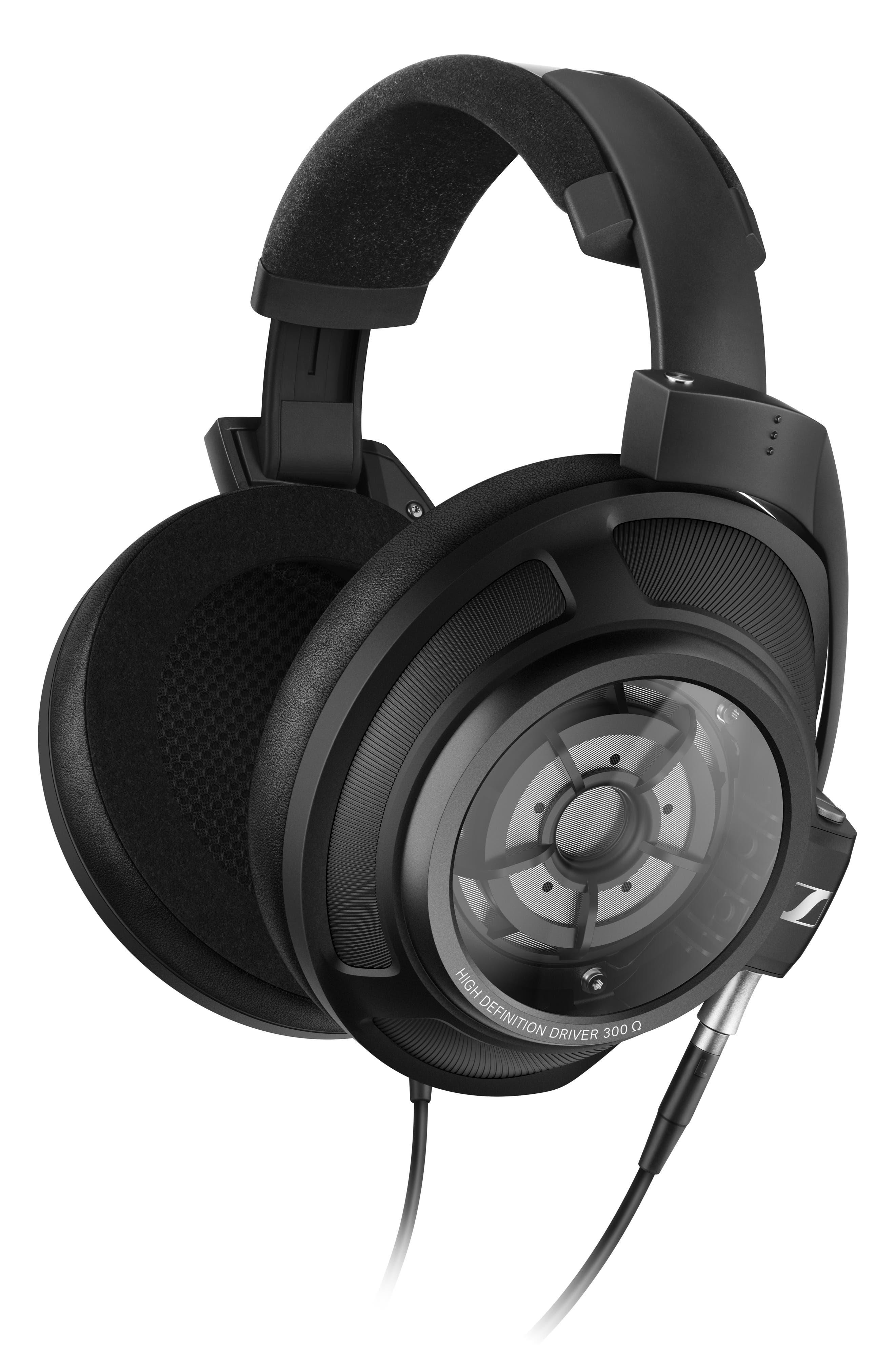 HD 820 On-Ear Headphones,                             Alternate thumbnail 3, color,                             BLACK