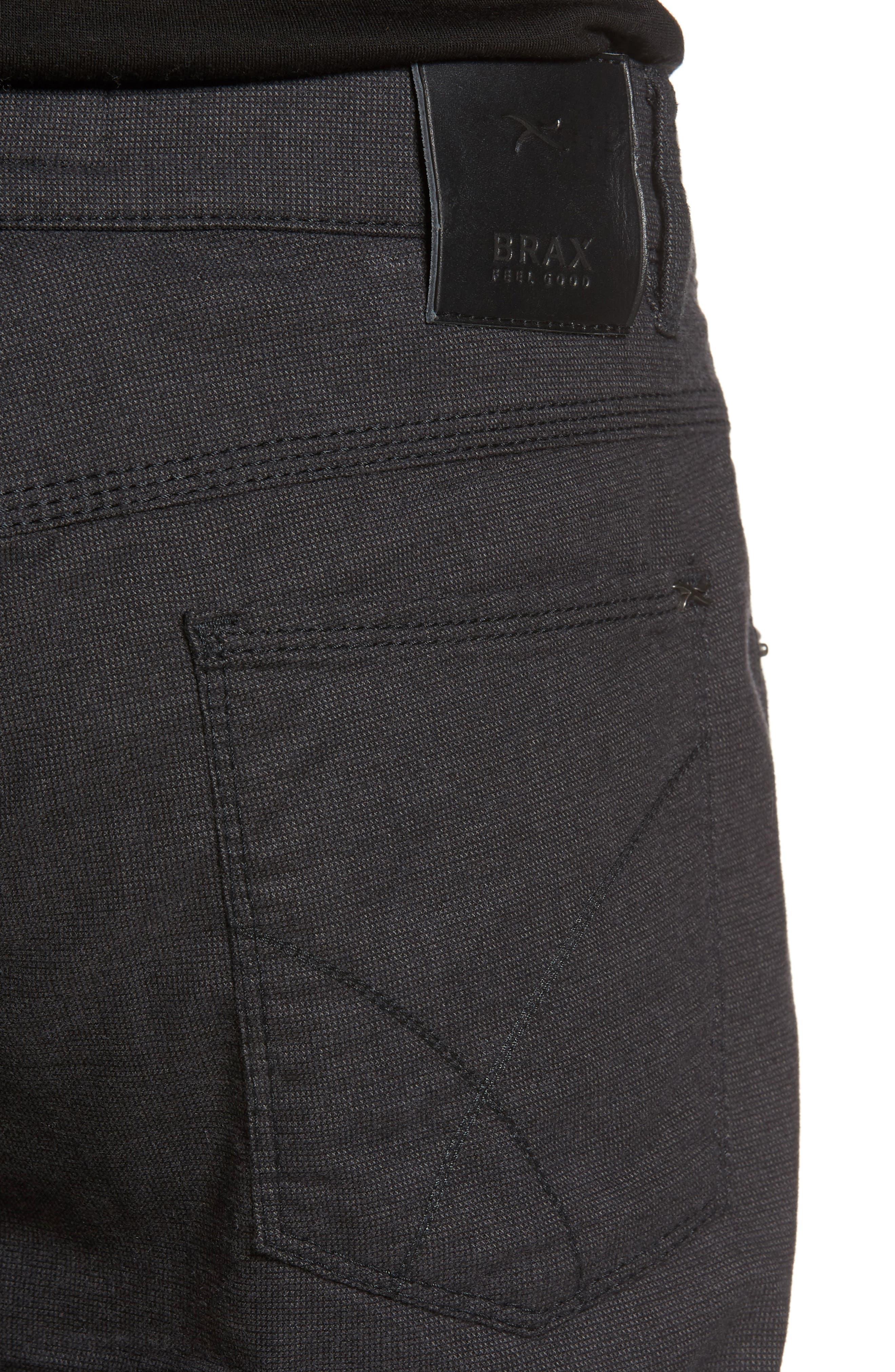 Five-Pocket Stretch Cotton Trousers,                             Alternate thumbnail 16, color,