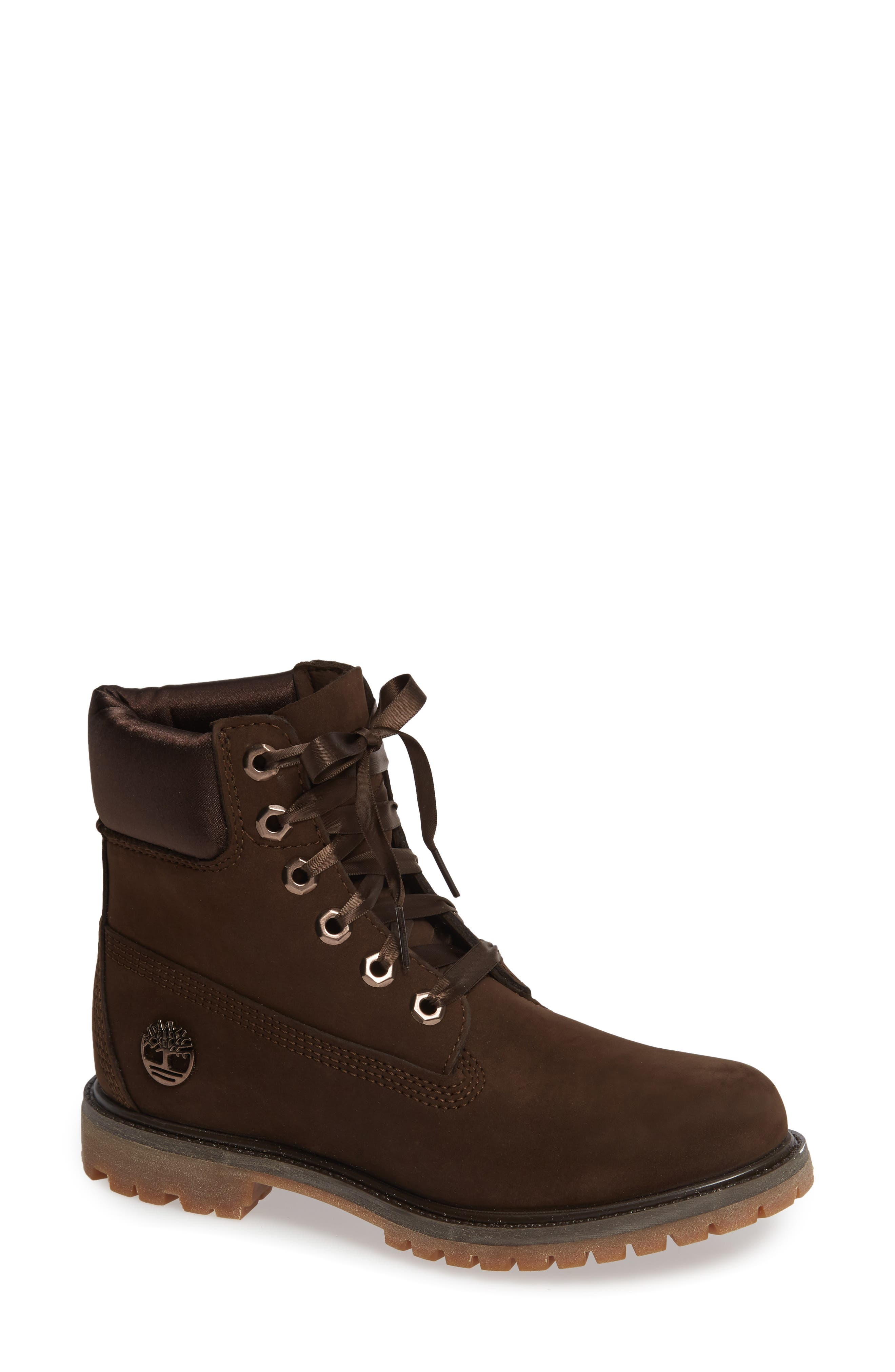 Timberland 6-Inch Premium Waterproof Bootie- Brown
