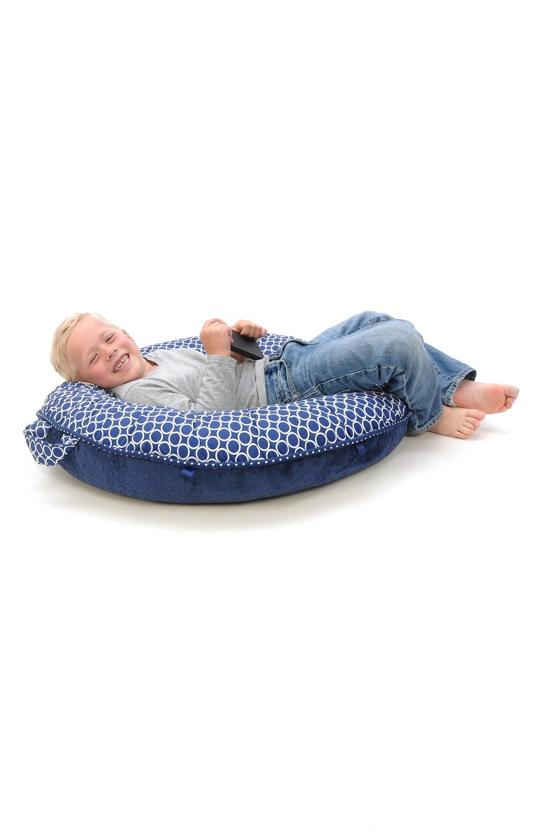 'Nathan' Portable Floor Pillow,                             Alternate thumbnail 4, color,                             410