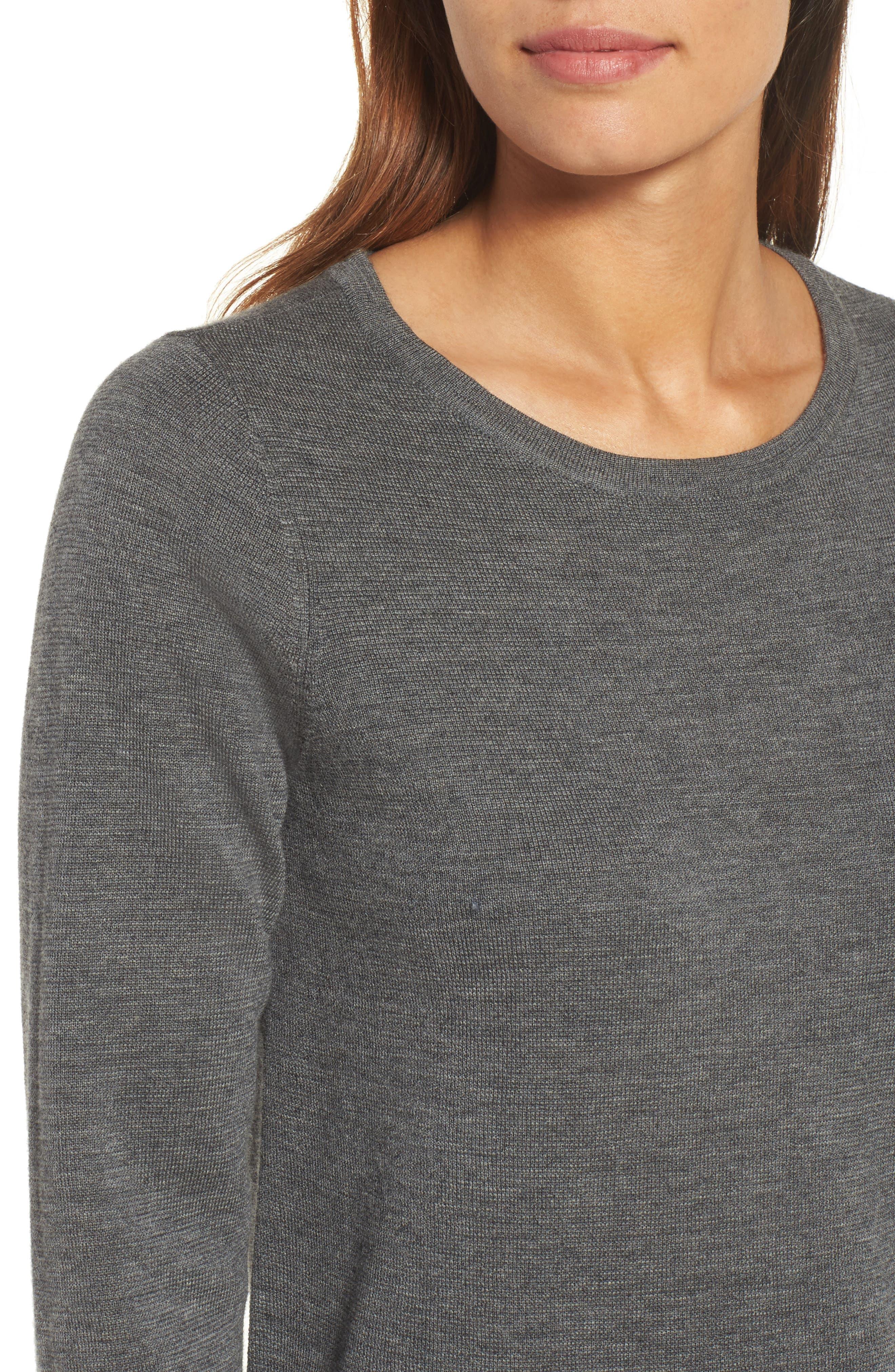 Merino Wool Sweater Dress,                             Alternate thumbnail 15, color,