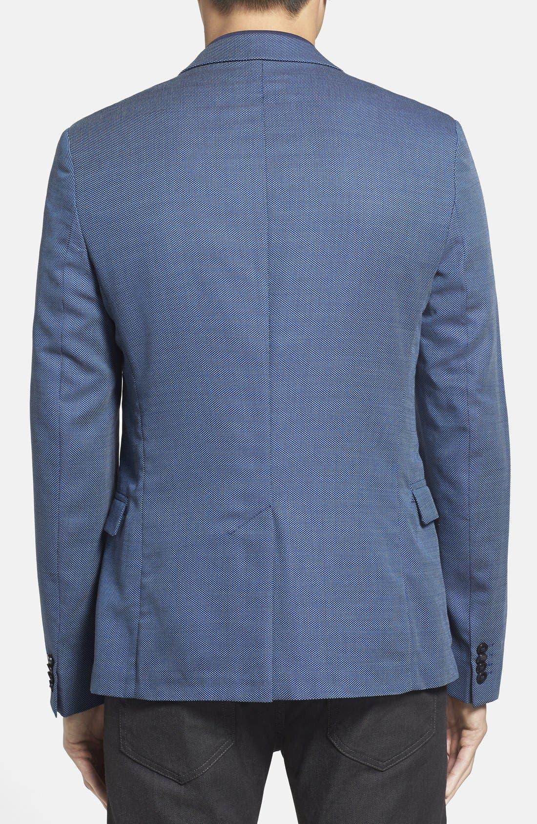 ZZDNUHUGO BOSS,                             HUGO 'Arnandos' Slim Fit Virgin Wool Sport Coat,                             Alternate thumbnail 2, color,                             420