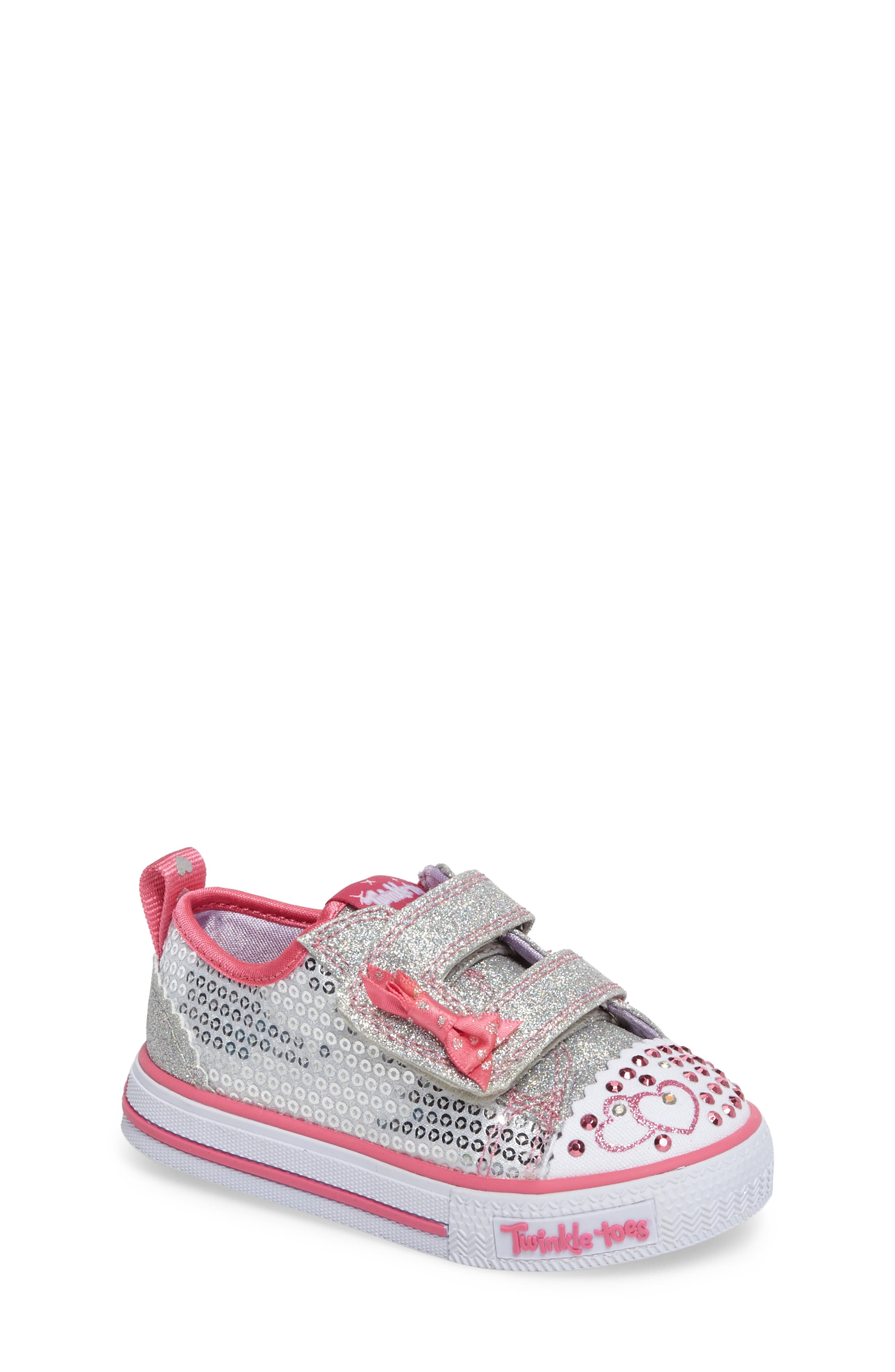 Shuffles - Itsy Bitsy Light-Up Sneaker,                             Main thumbnail 1, color,                             040
