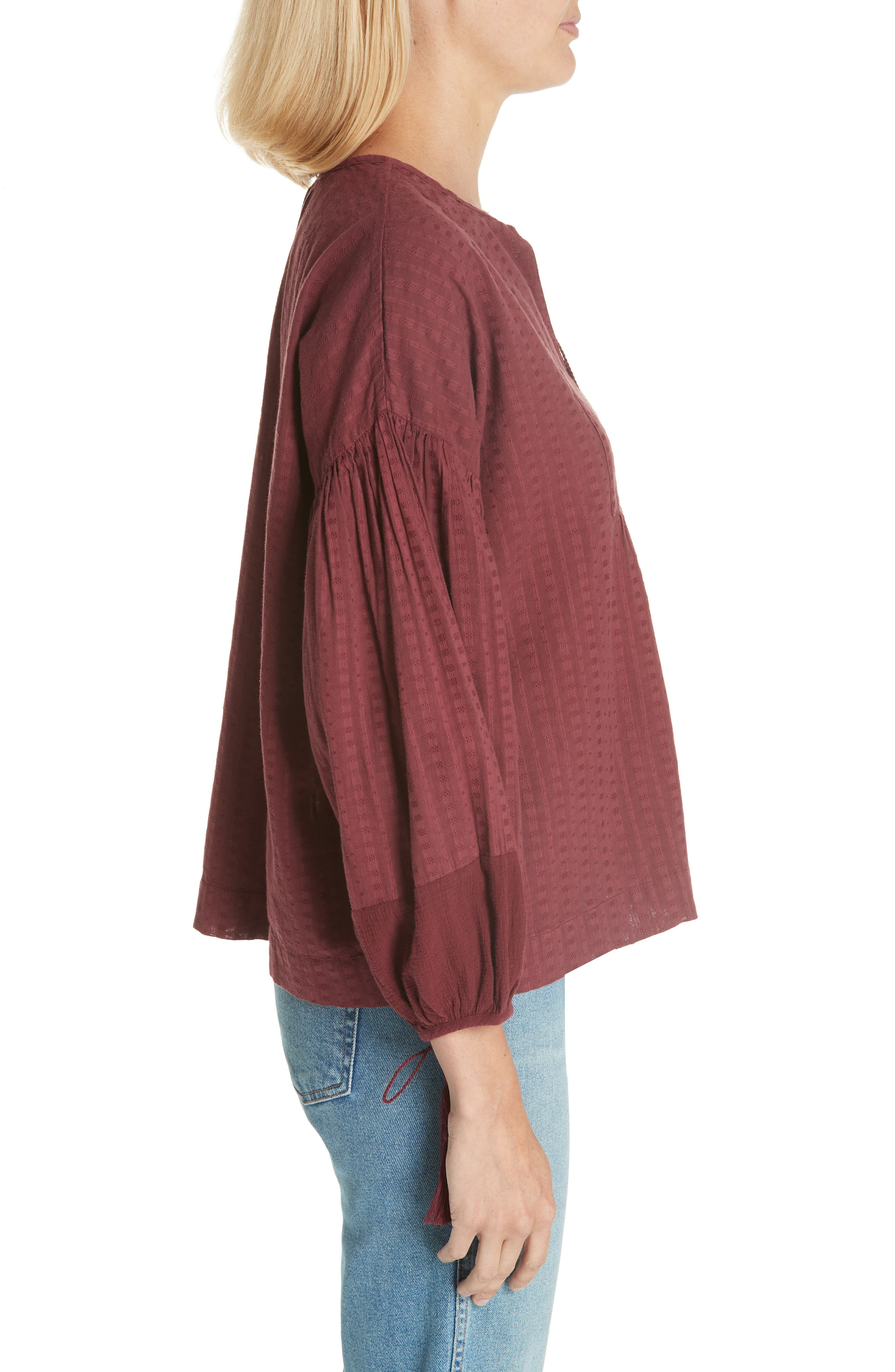 The Panel Tunic Top,                             Alternate thumbnail 3, color,                             930