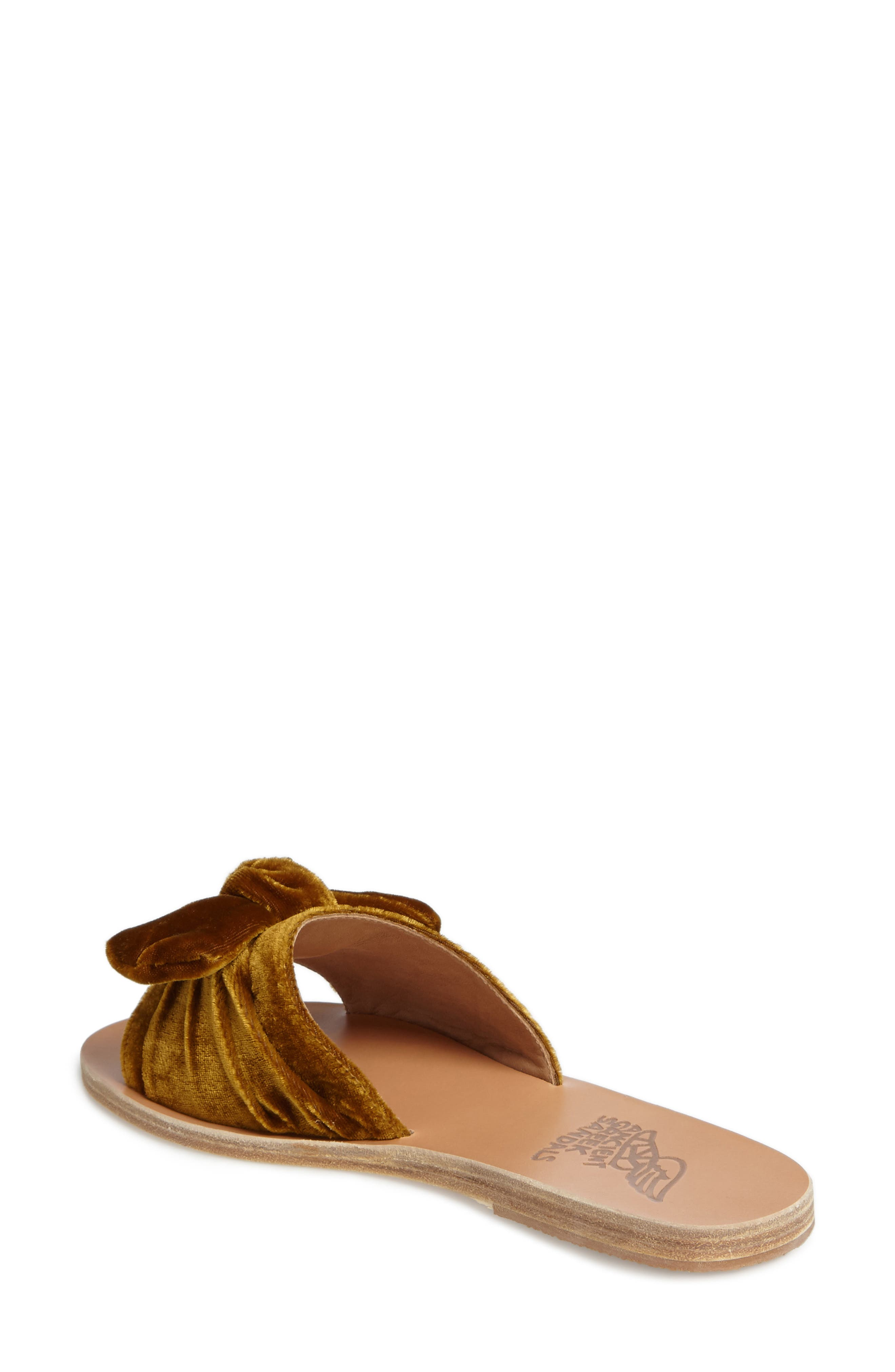 Taygete Bow Slide Sandal,                             Alternate thumbnail 8, color,