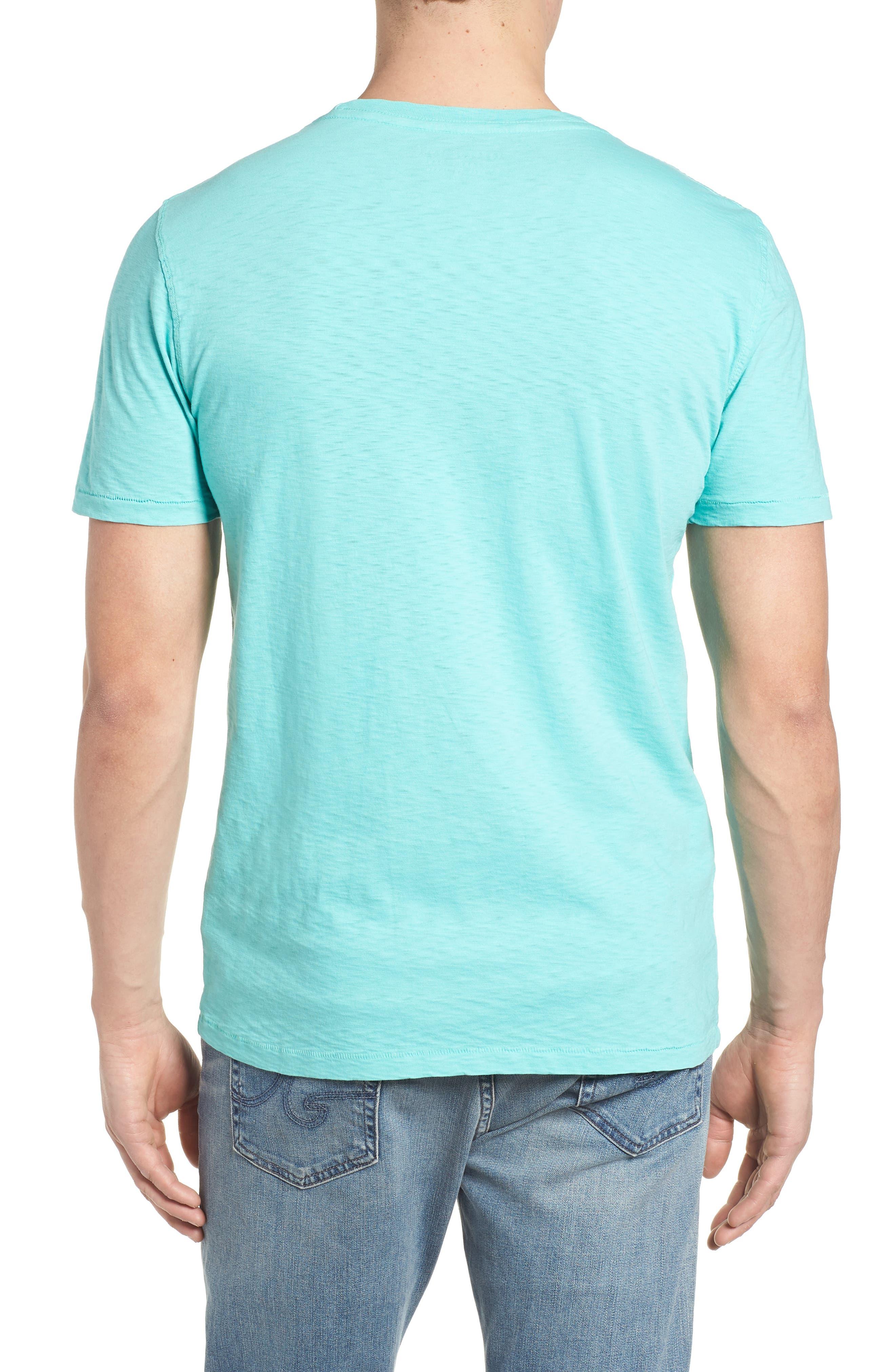 Slub Knit T-Shirt,                             Alternate thumbnail 2, color,                             100