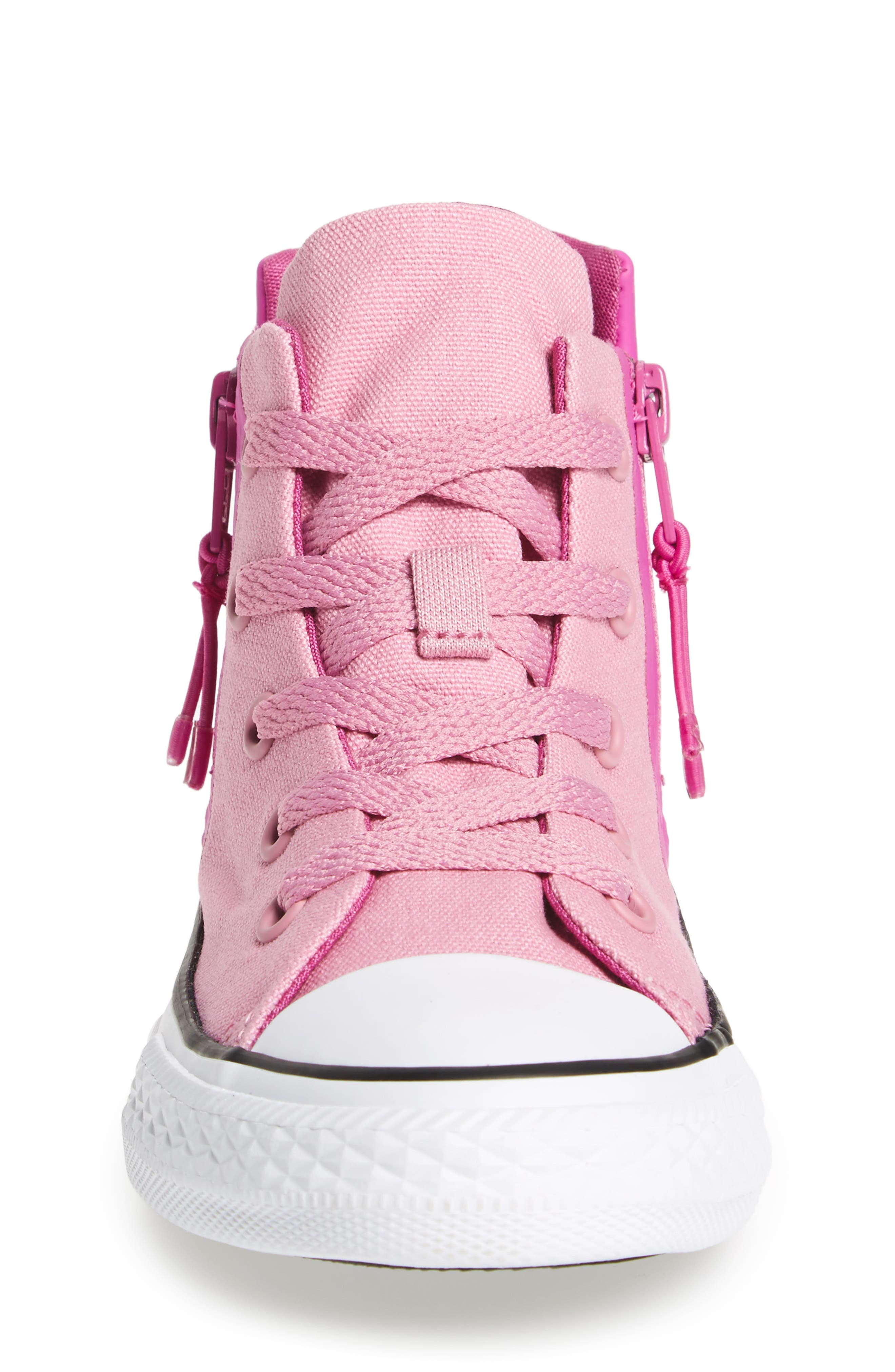 Chuck Taylor<sup>®</sup> All Star<sup>®</sup> Sport Zip High Top Sneaker,                             Alternate thumbnail 4, color,