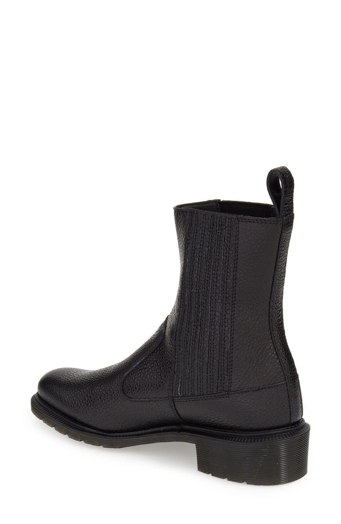 'Eleanore' Chelsea Boot,                             Alternate thumbnail 2, color,                             001